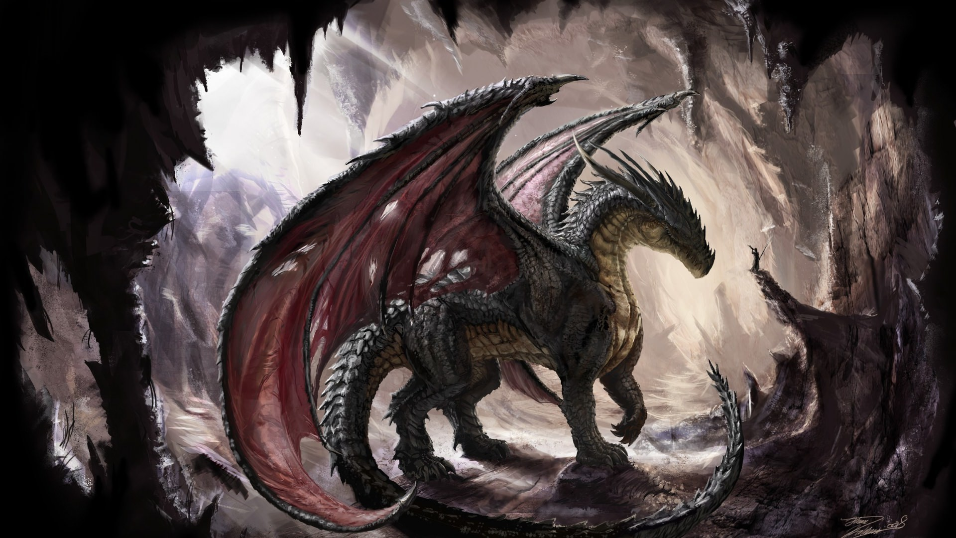 1920x1080 ... Awesome Dragon Wallpapers (76 Wallpapers) – HD Wallpapers ...