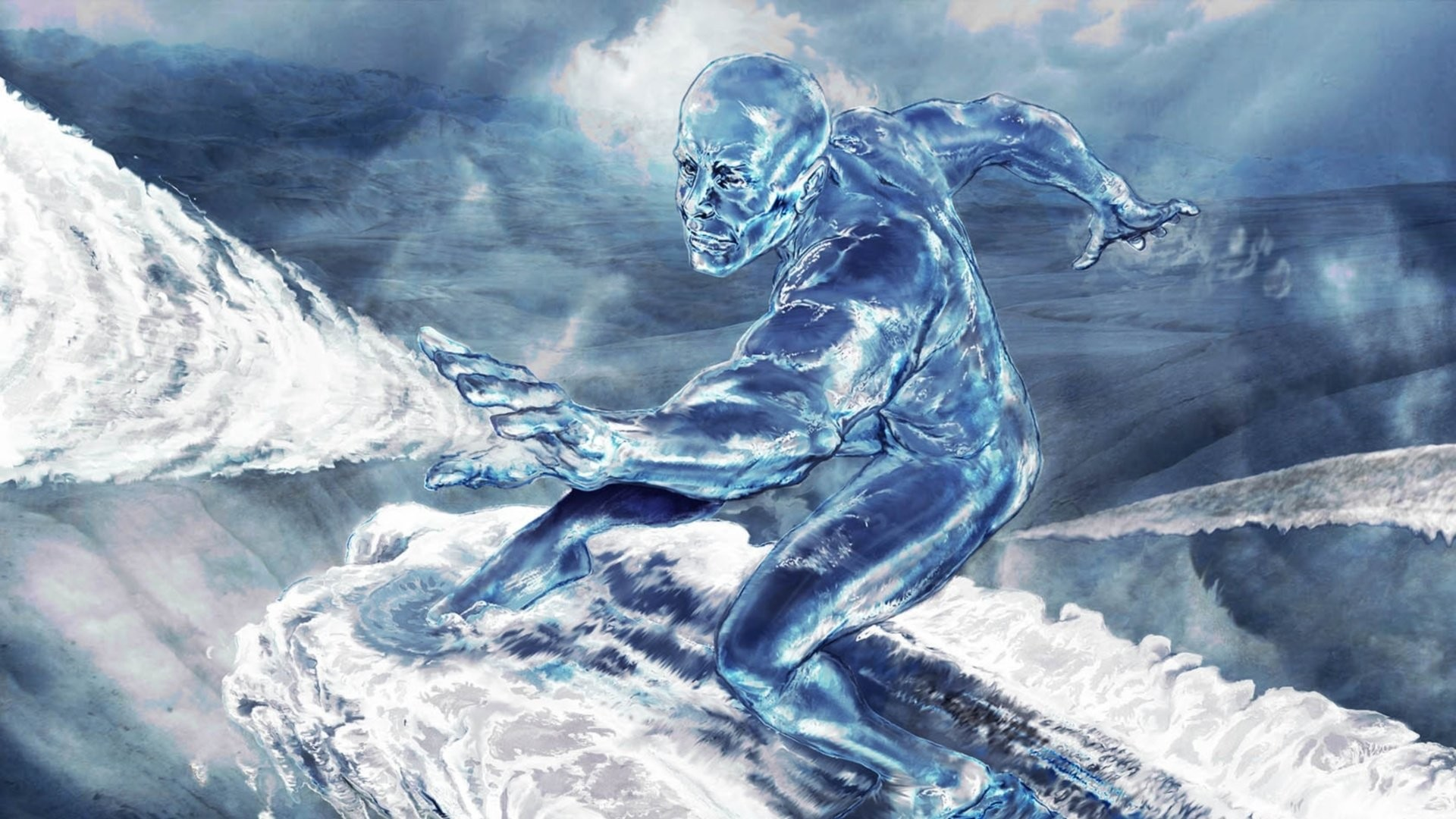 1920x1080 Video Game - Marvel: Ultimate Alliance Silver Surfer Wallpaper
