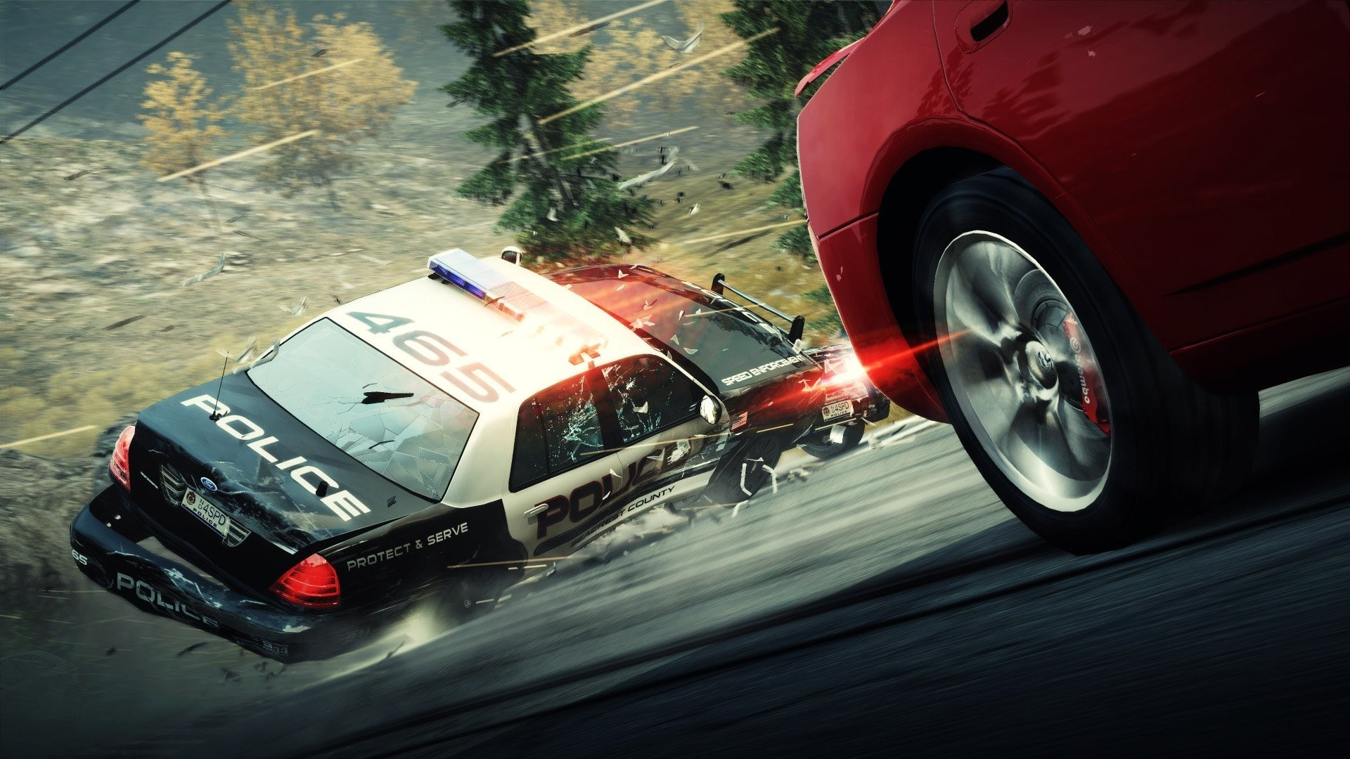 1920x1080 car, Video Games, Need For Speed: Hot Pursuit, Police Cars Wallpapers HD /  Desktop and Mobile Backgrounds