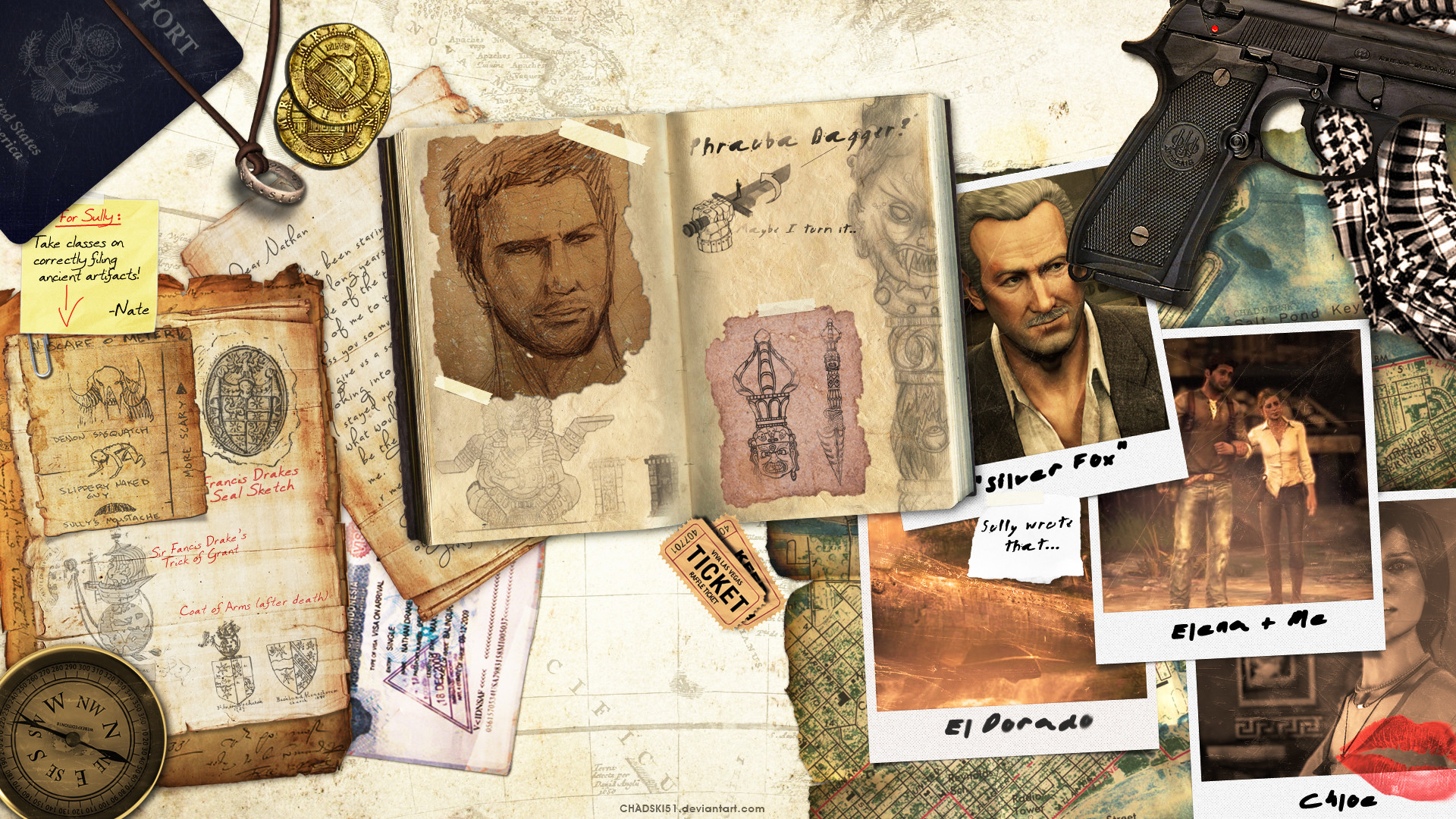 1920x1080 Uncharted Desktop Wallpaper by Chadski51 Uncharted Desktop Wallpaper by  Chadski51