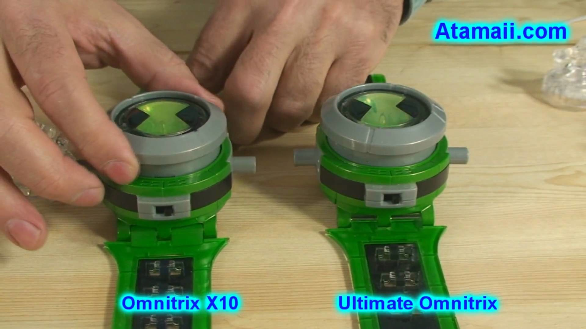 1920x1080 Ben 10 Omnitrix X10 Toy Review and Ultimate Alien .