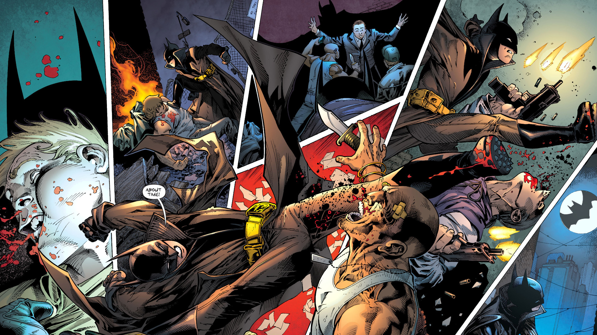1920x1080 Wallpaper Abyss Everything Batman Comics Batman And Robin 391283