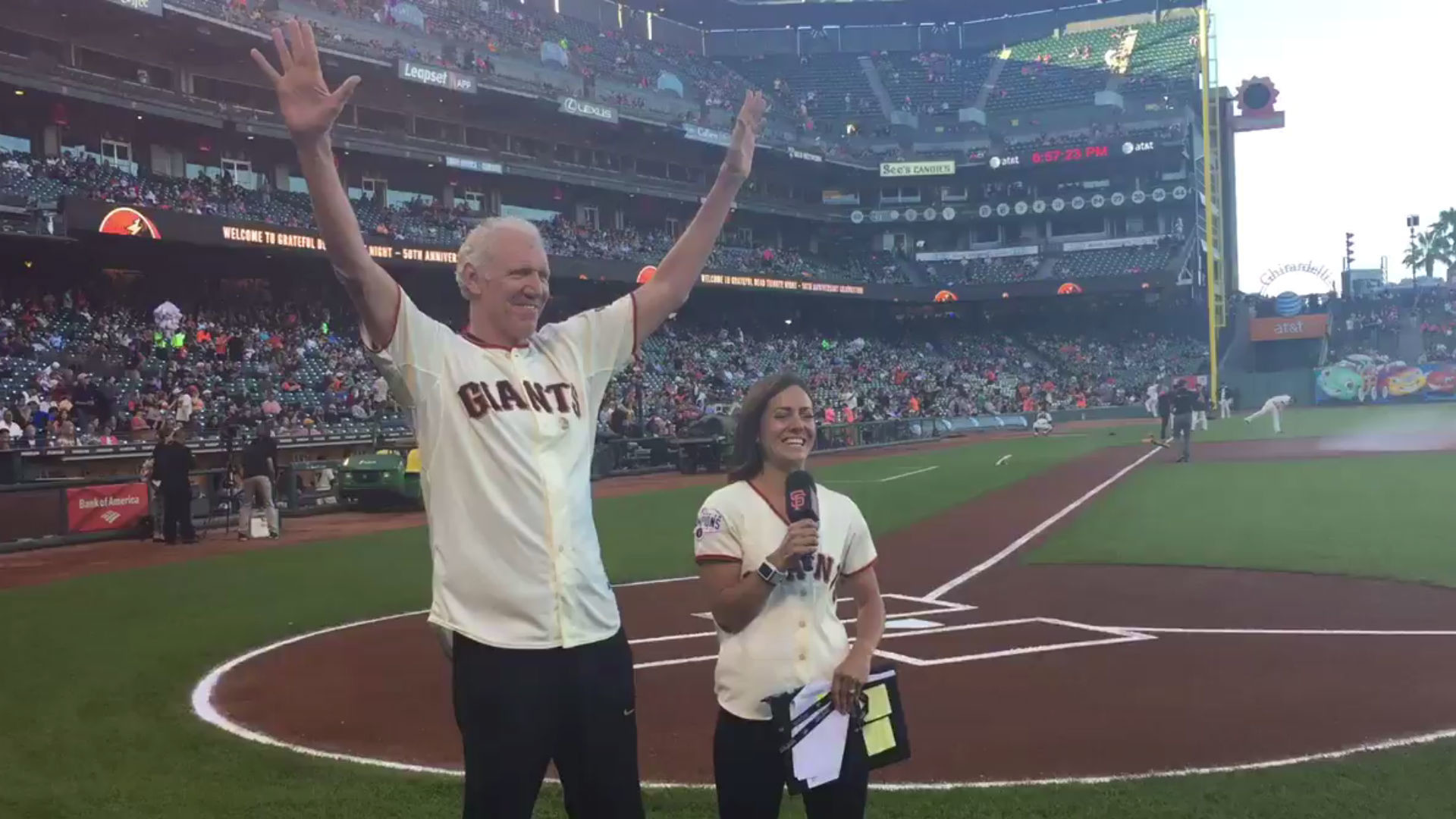 1920x1080 Bill Walton addresses crowd at Giants' Grateful Dead night | MLB | Sporting  News