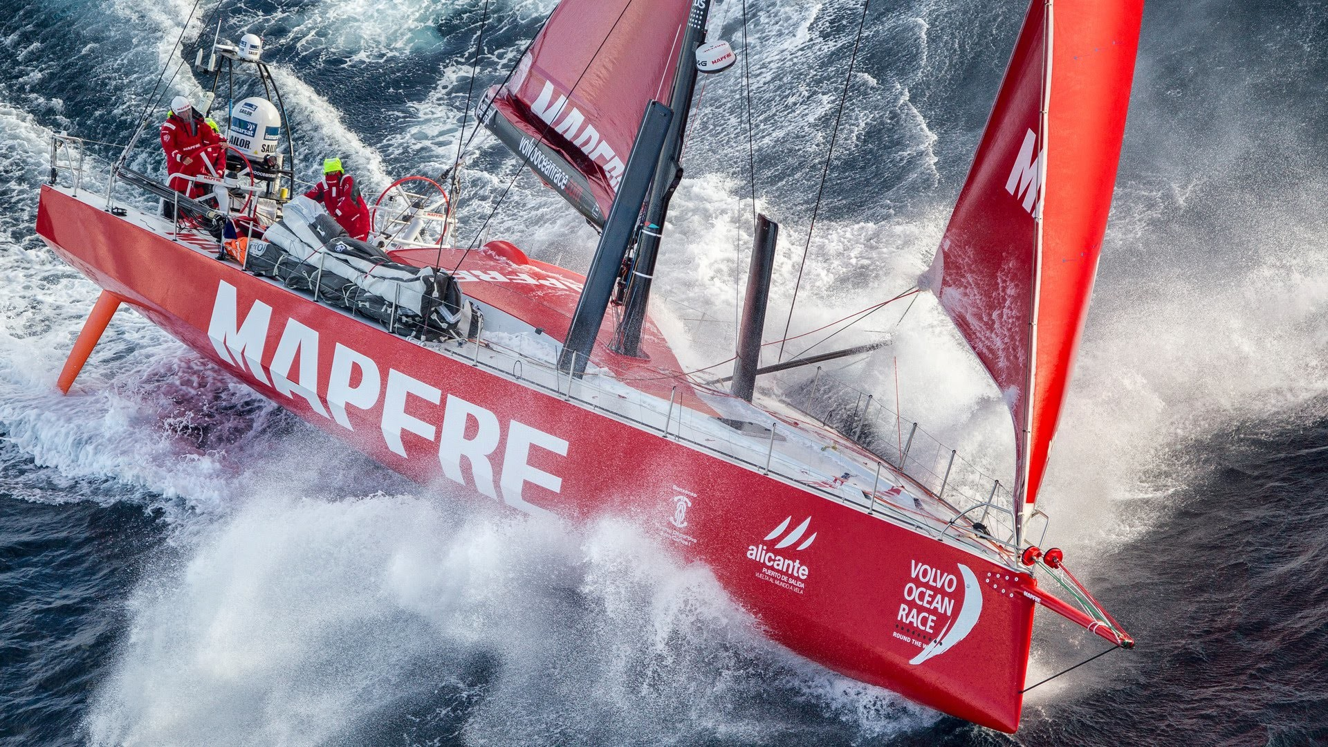 1920x1080 Riding the storm | Volvo Ocean Race