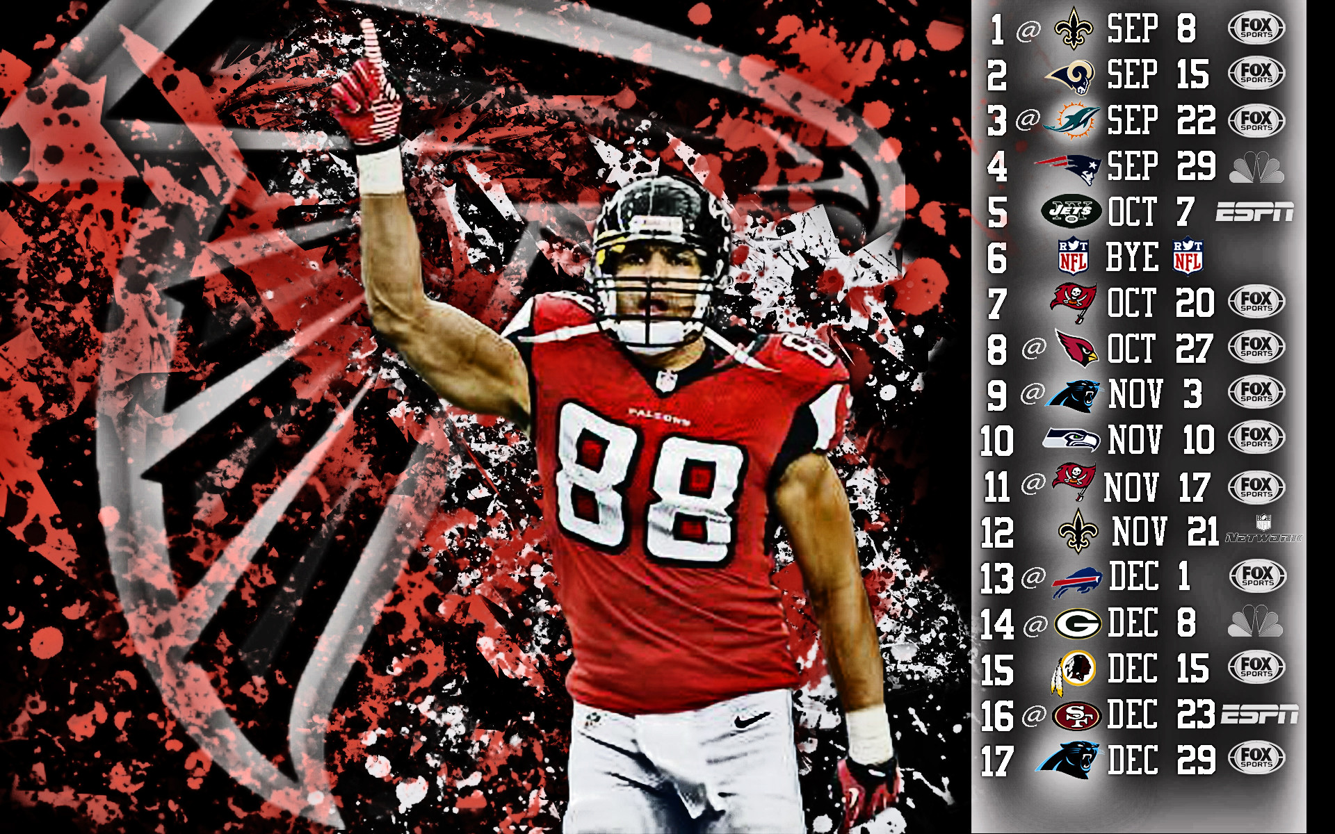 Atlanta Falcons Wallpapers Hd: Atlanta Falcons 2018 Wallpaper HD (64+ Images