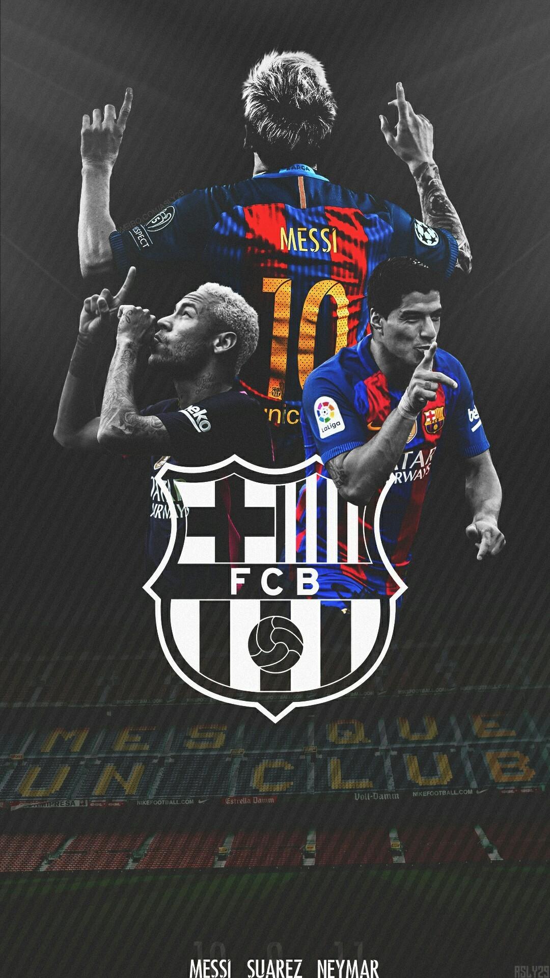 Barcelona Wallpaper Hd 2017 >> Messi Neymar Suarez Wallpaper (90+ images)