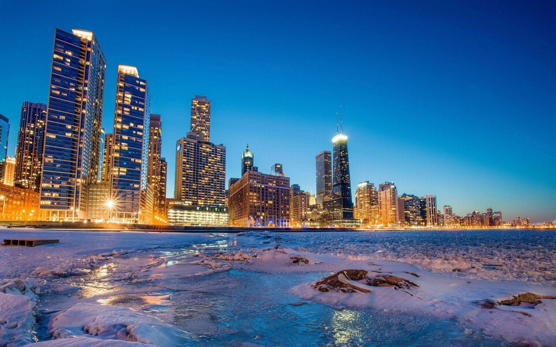 1920x1200 Chicago Skyline Wallpapers - Full HD wallpaper search