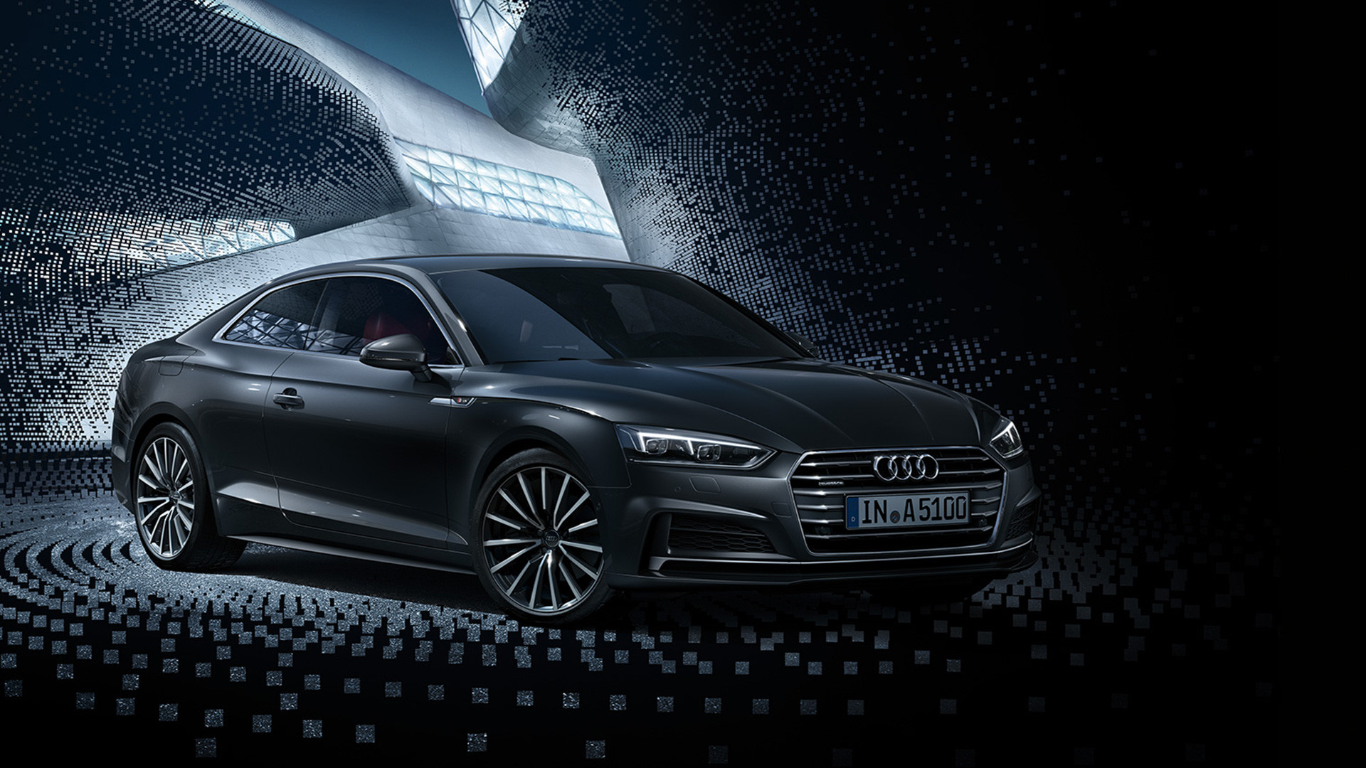1920x1080 Sporty elegance - the new Audi A5 and S5 Coupé
