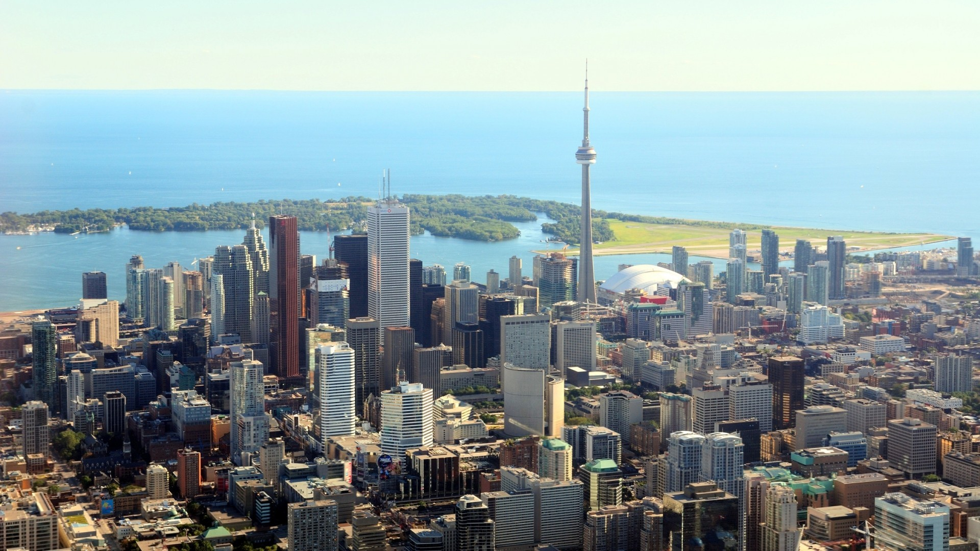 1920x1080 Cityscapes towns skyscrapers Toronto city skyline cities wallpaper |   | 229196 | WallpaperUP