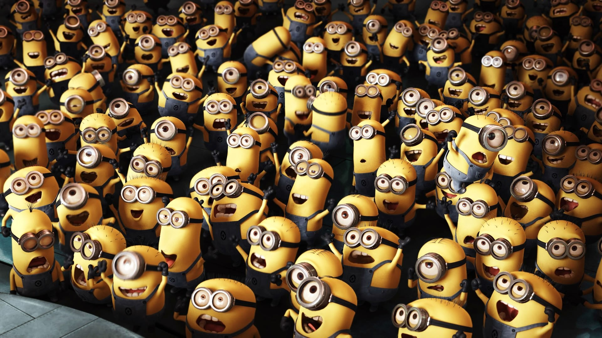1920x1080 Funny-Minion-Wallpapers-Desktop-Crowd