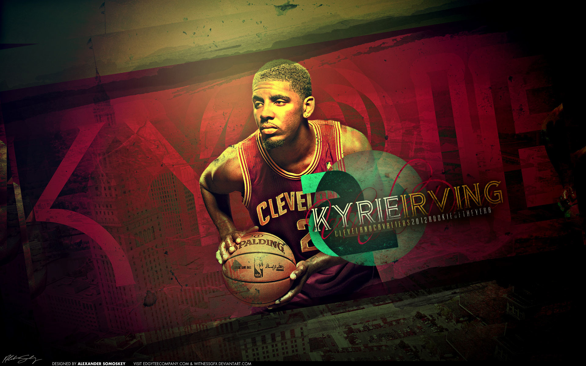 1920x1200 Kyrie Irving 2013 Wallpaper