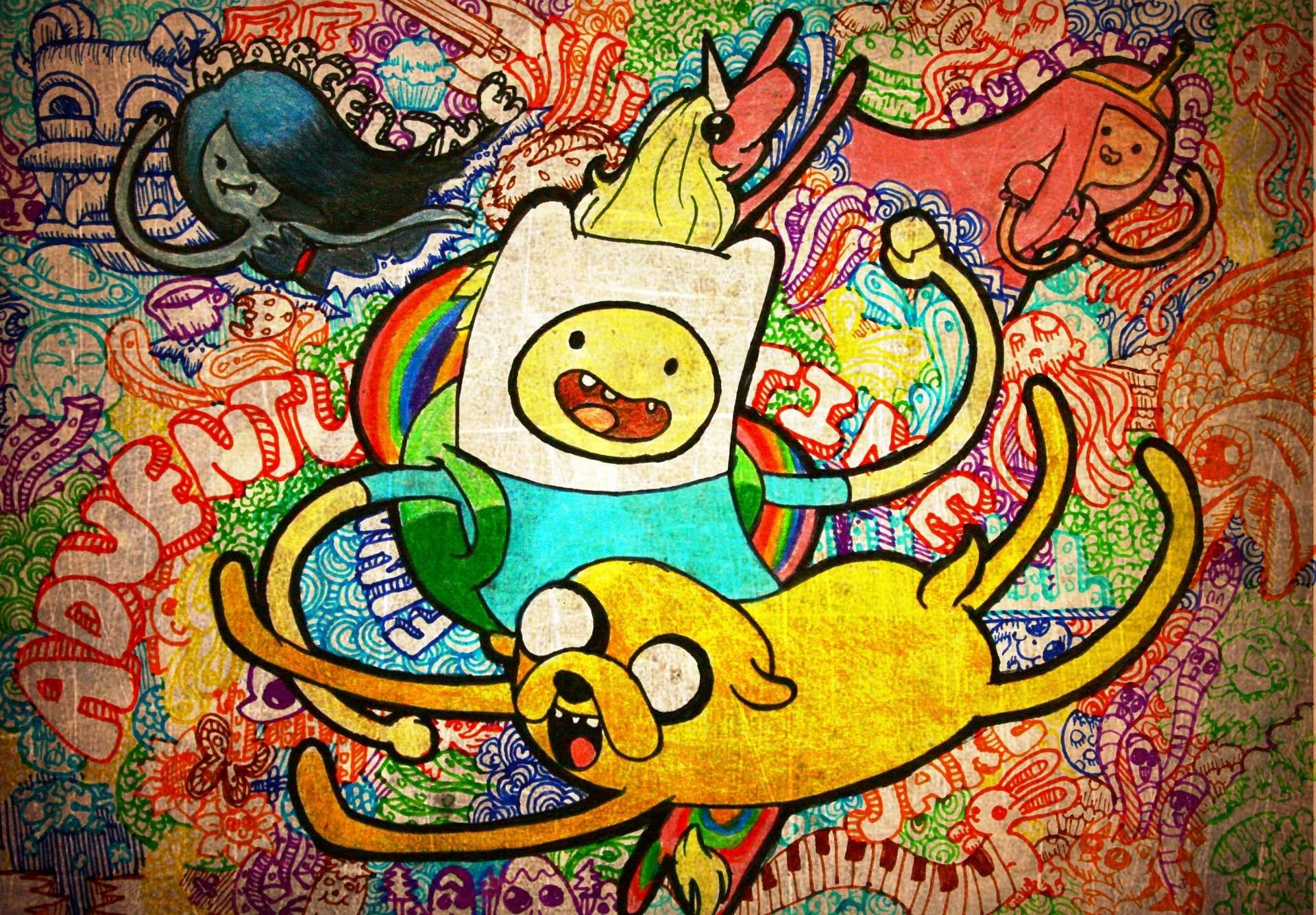 1920x1335 Adventure Time Hd Wallpaper For Iphone