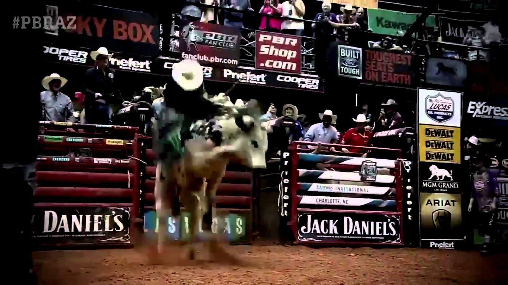 1920x1080 PBR's Top bull Air Time takes out J.B Mauney
