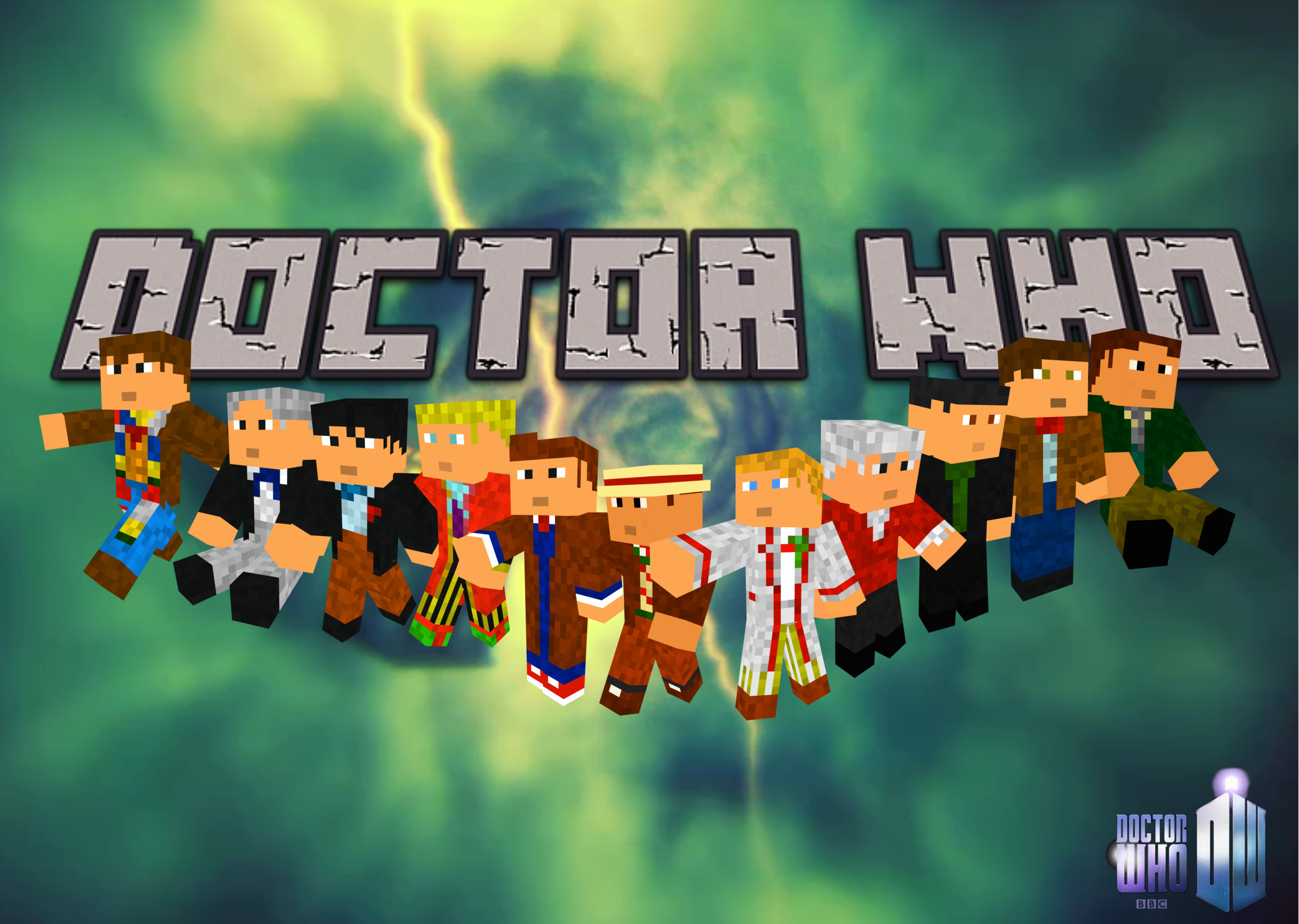 2360x1680 Doctor Who Minecraft Wallpaper by Captainpikachu Doctor Who Minecraft  Wallpaper by Captainpikachu