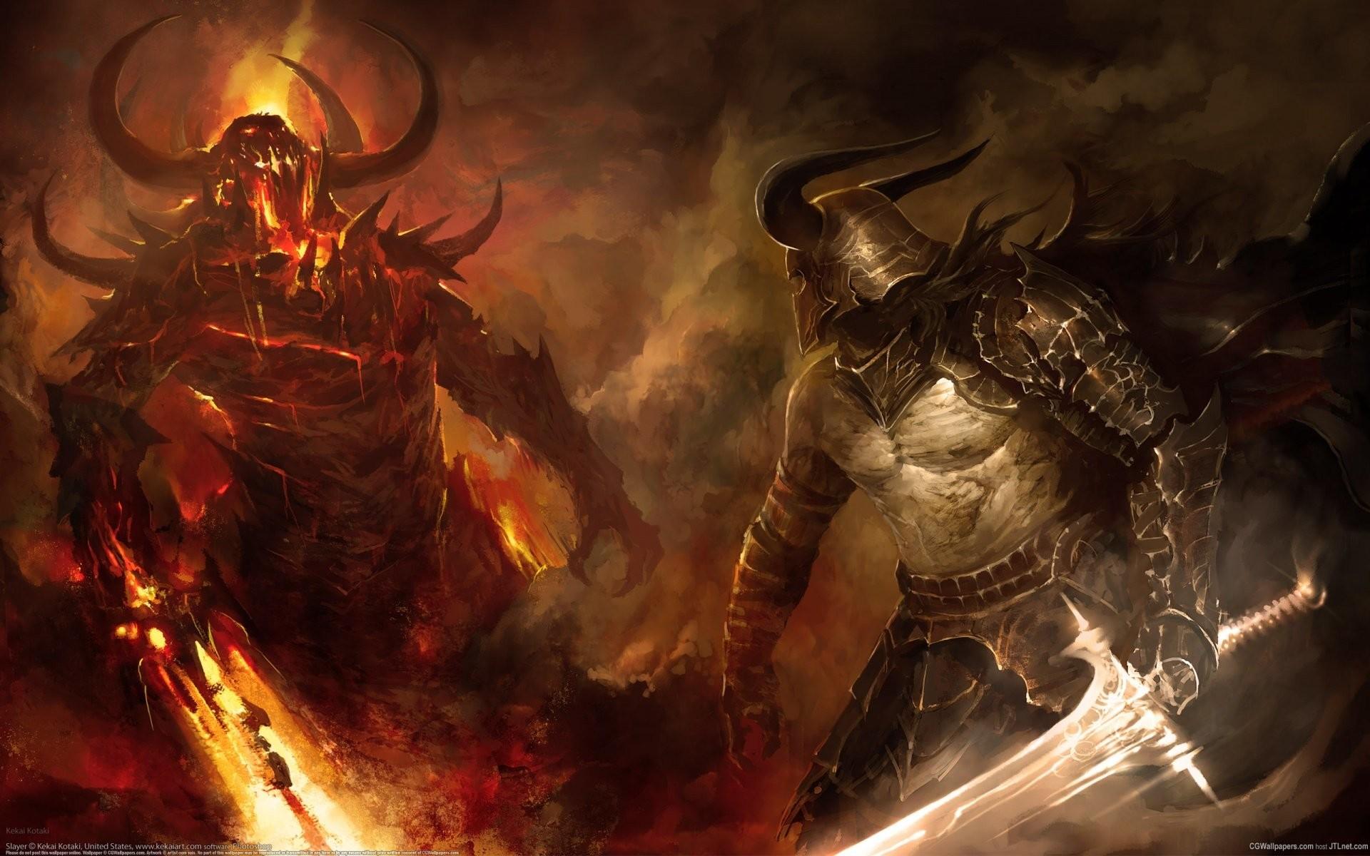 Angel and Devil Wallpaper (61+ images)
