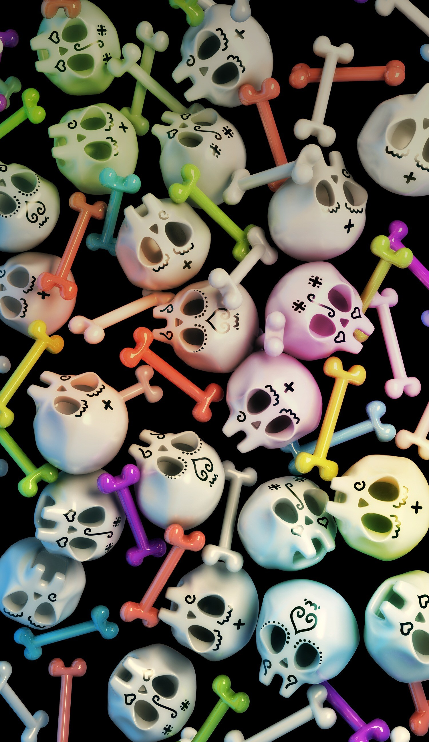 Sugar Skull Wallpaper For Iphone 62 Images