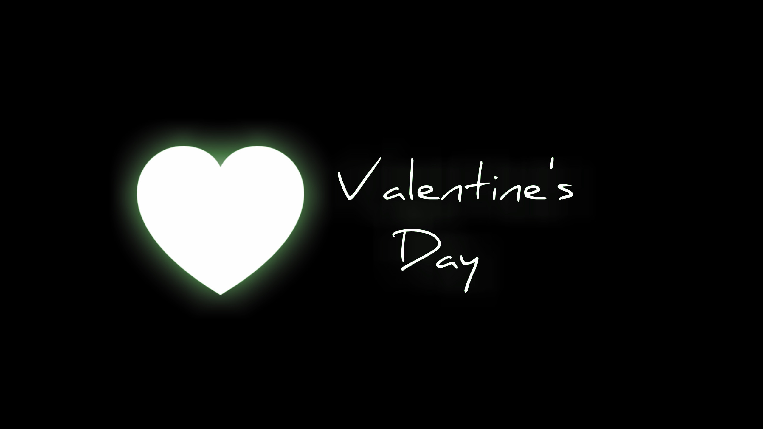 2560x1440 Valentines Day Clip Art Black and White Heart Wallpapers - The .