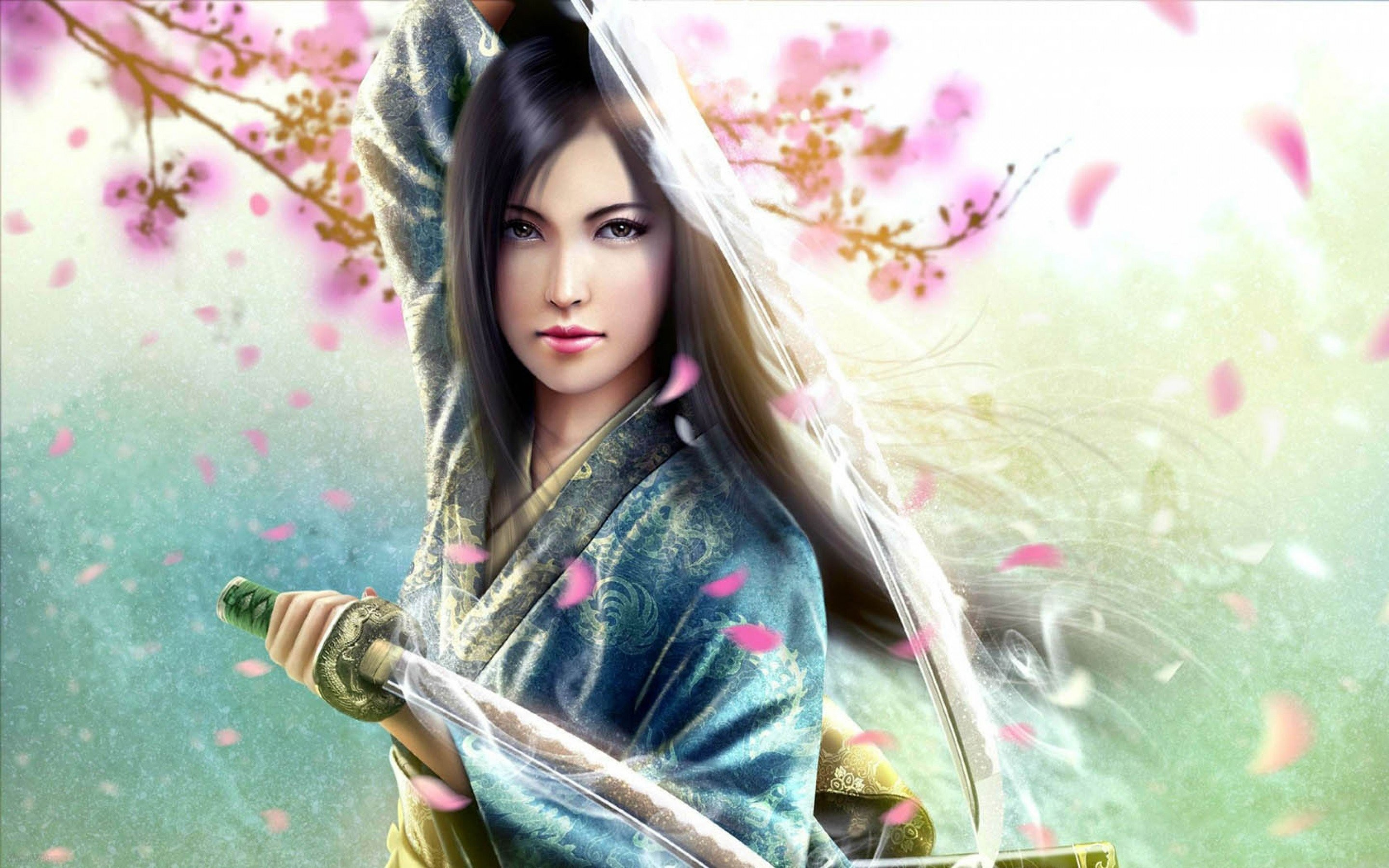 2880x1800 Best wallpaper gallery with Samurai Girl Female Warrior and HD wallpapers.  We collected full High Quality pictures and wallpapers for your PC, ...