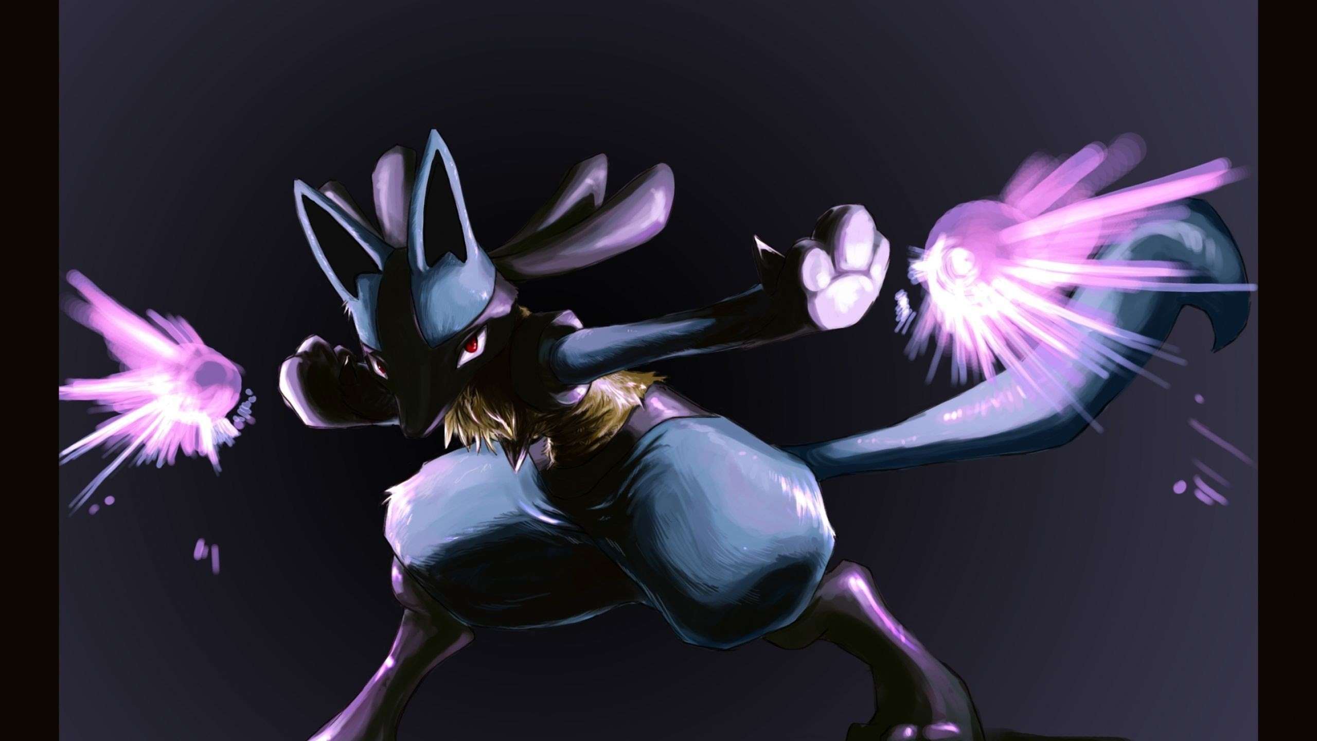 2560x1440 pokemon lucario wallpaper free download