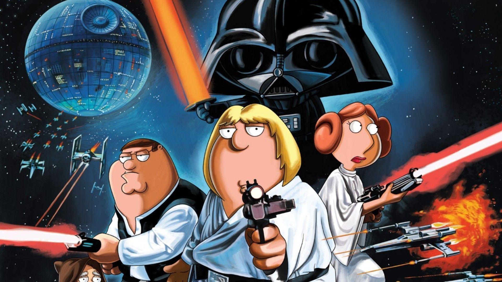 Family Guy Star Wars Wallpaper 47 Images
