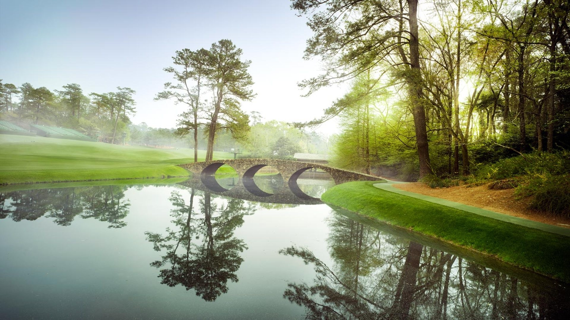 1920x1080 Wallpapers Hd Backgrounds Images Pics Photos: Augusta National Golf Club Wallpaper (63+ Images