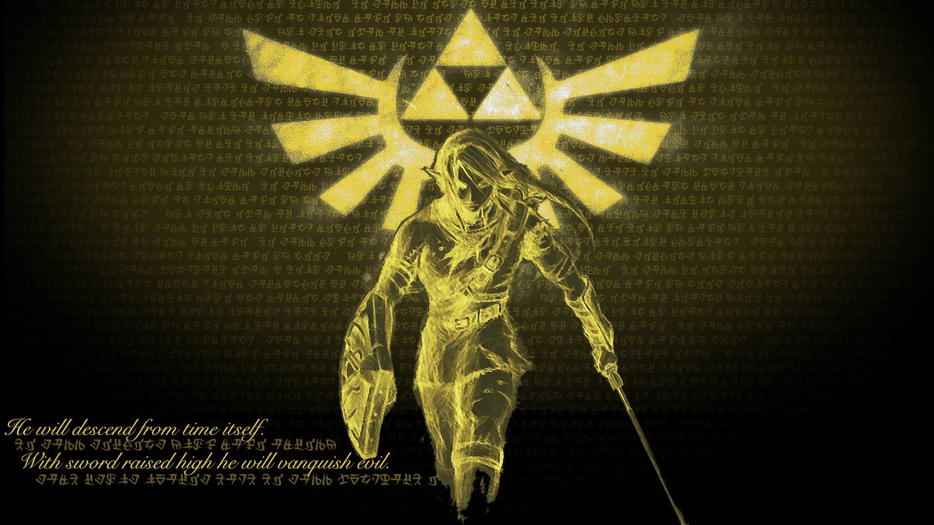 1920x1080 Wallpapers For > Legend Of Zelda Triforce Iphone Wallpaper