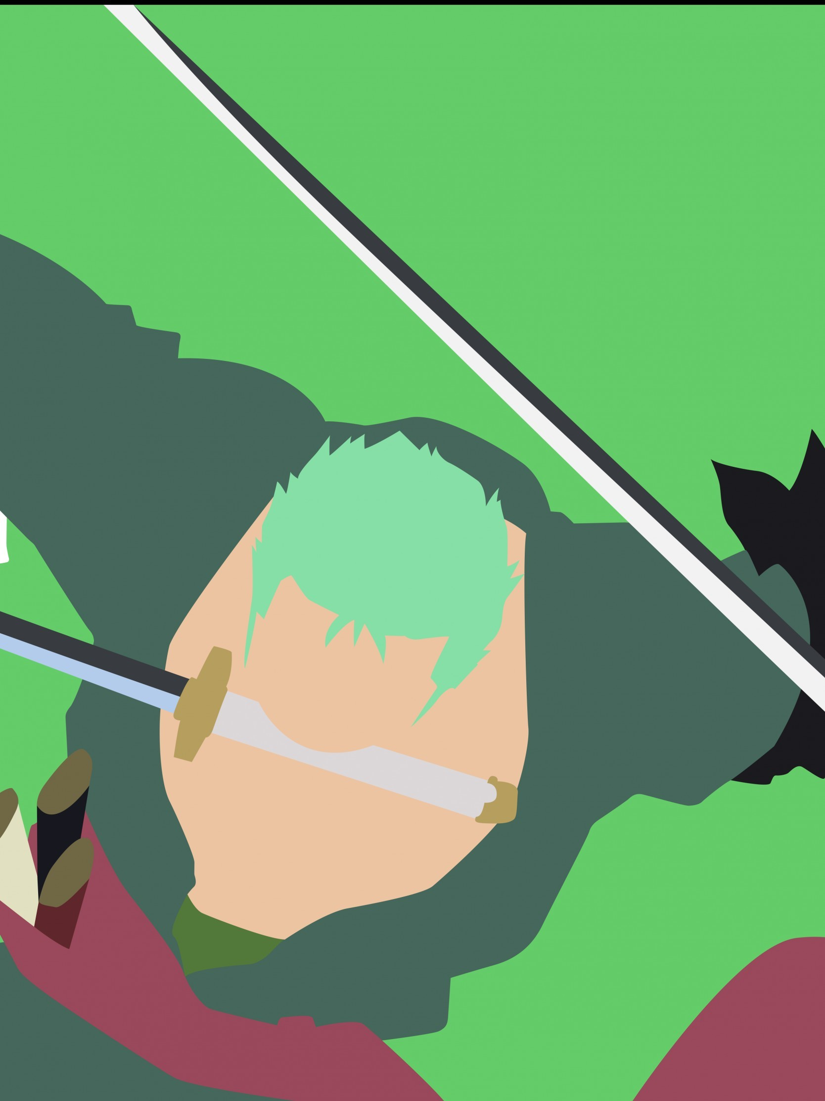 1668x2224 zoro wallpaper #275801