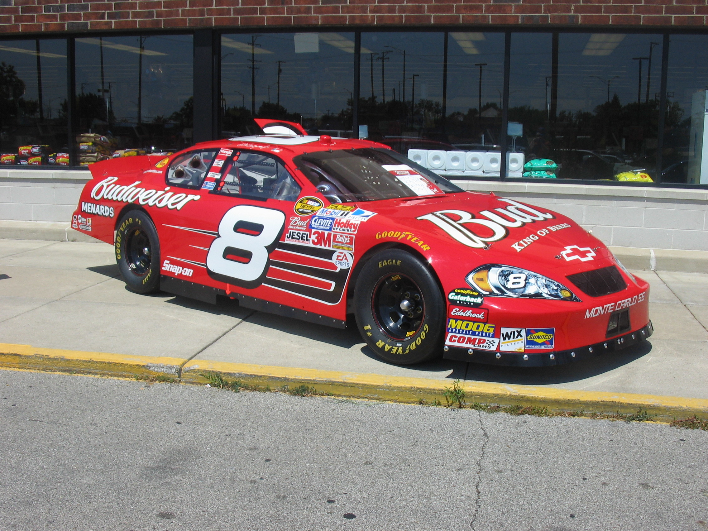 2272x1704 ... photo of Dale Earnhardt Jr. 2007 Show Car ...