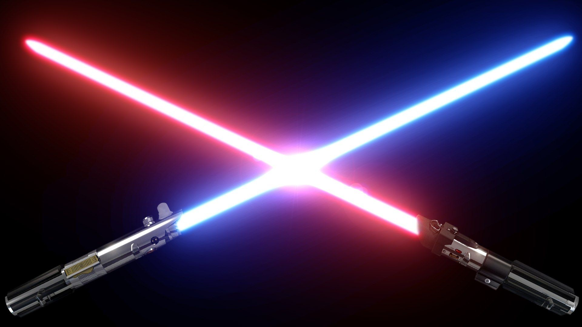 1920x1080 Red and blue lightsaber wallpaper  - (#34153) - High .