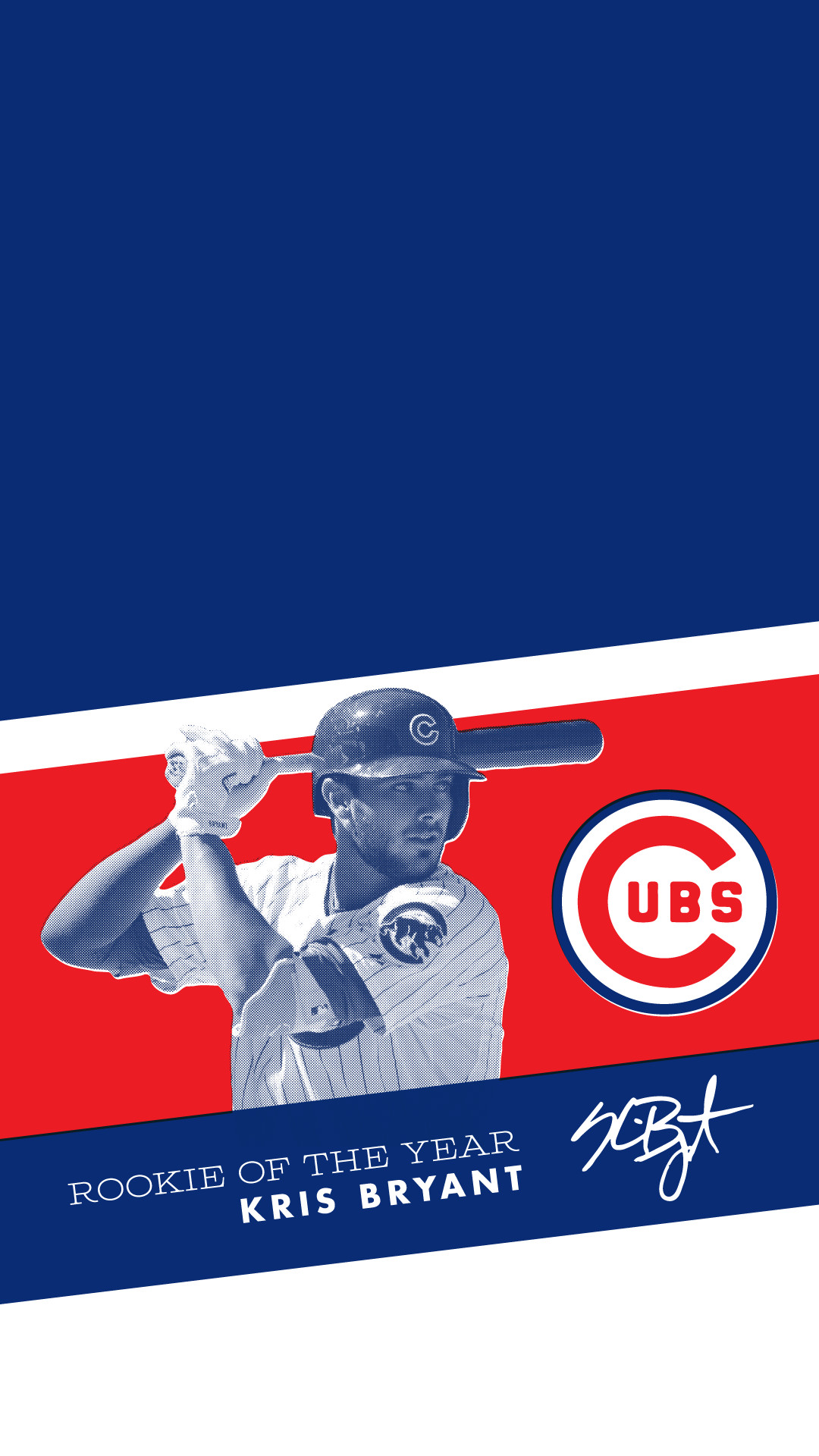 1080x1920 Kris Bryant Rookie of the Year, ...