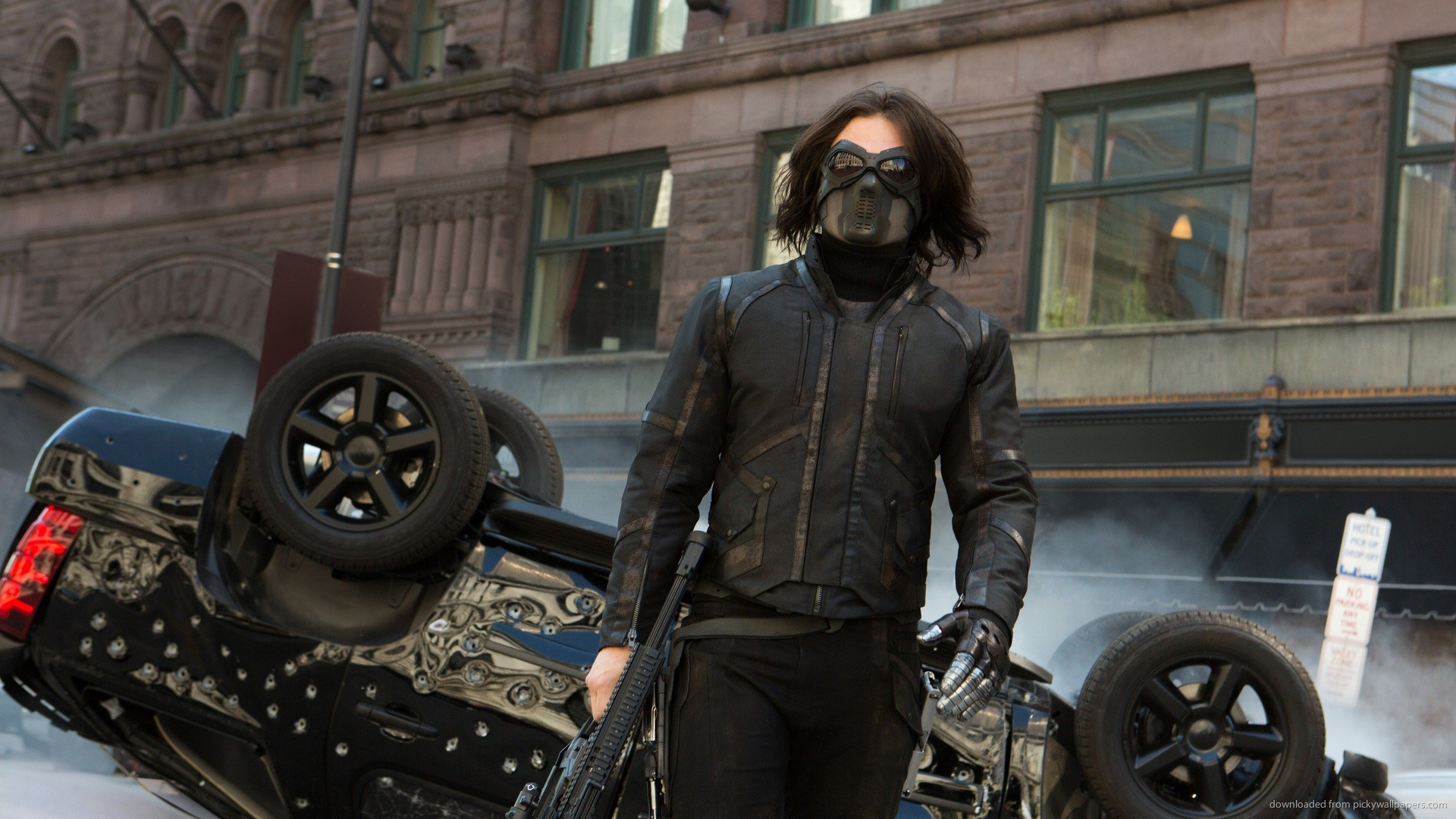 1920x1080 Winter Soldier Walking Away picture