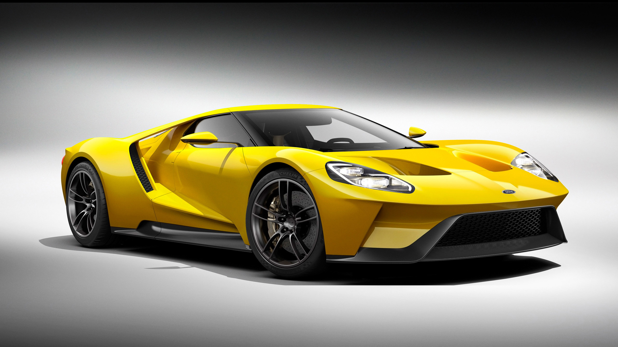 2560x1440 Ford GT images Ford GT 2016 Yellow HD wallpaper and background photos