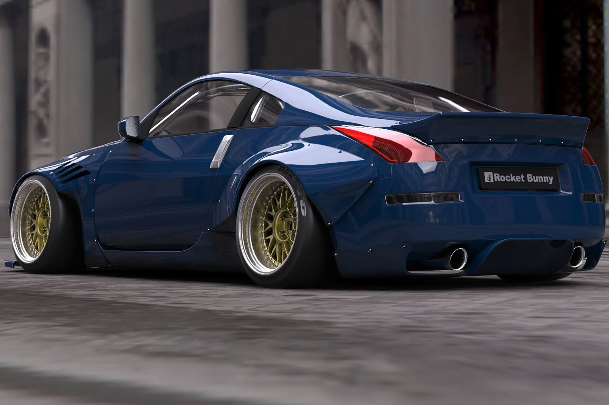 2048x1365 Rocket Bunny 350Z nissan modified bodykit cars wallpaper |  |  669686 | WallpaperUP