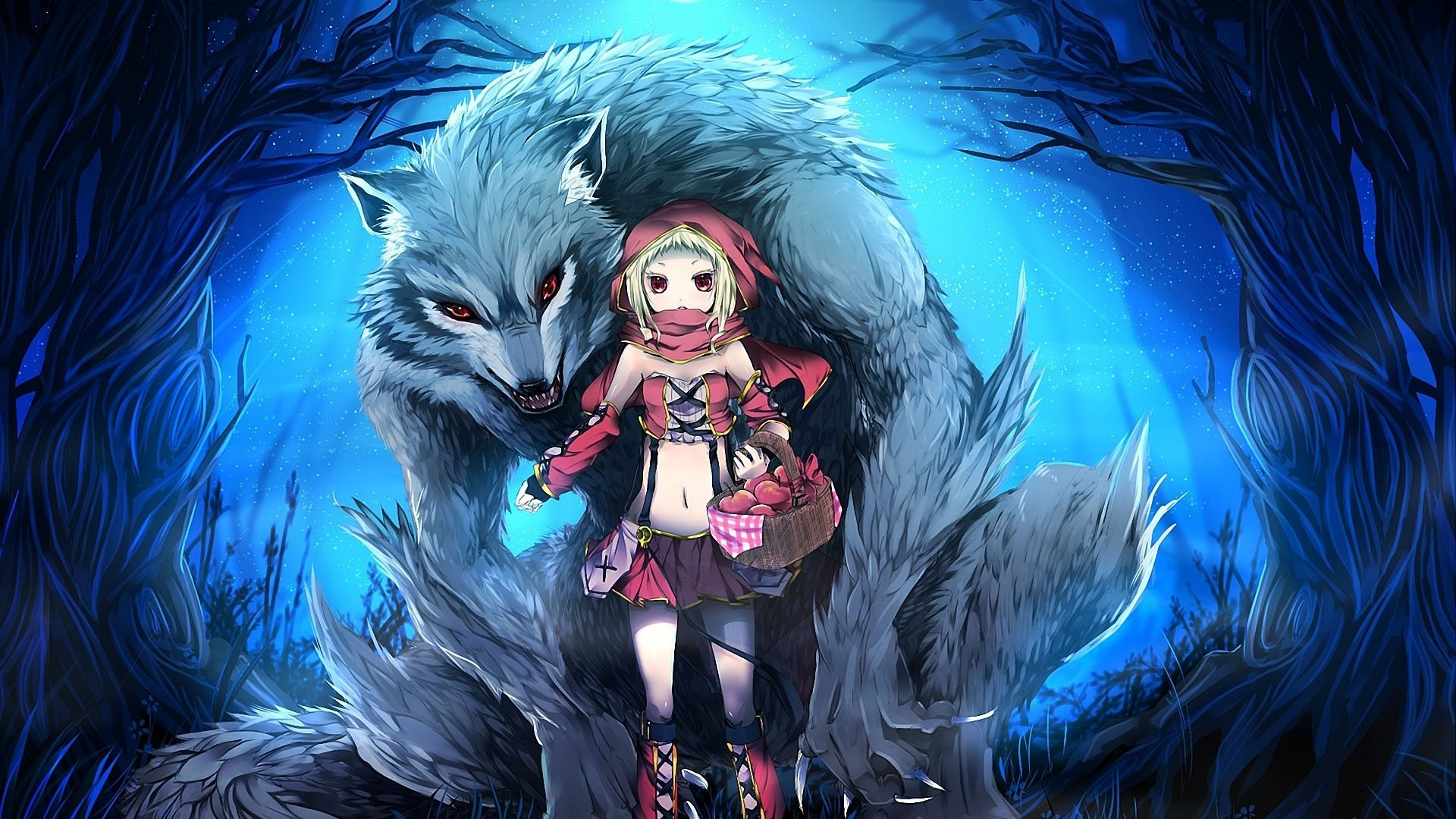 1920x1080 Red Riding Hood Anime 764798