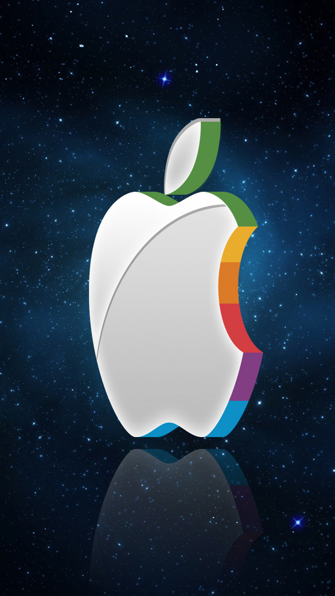 1080x1920 ... ios 7 live; apple wallpaper 3d on wallpaperget com ...