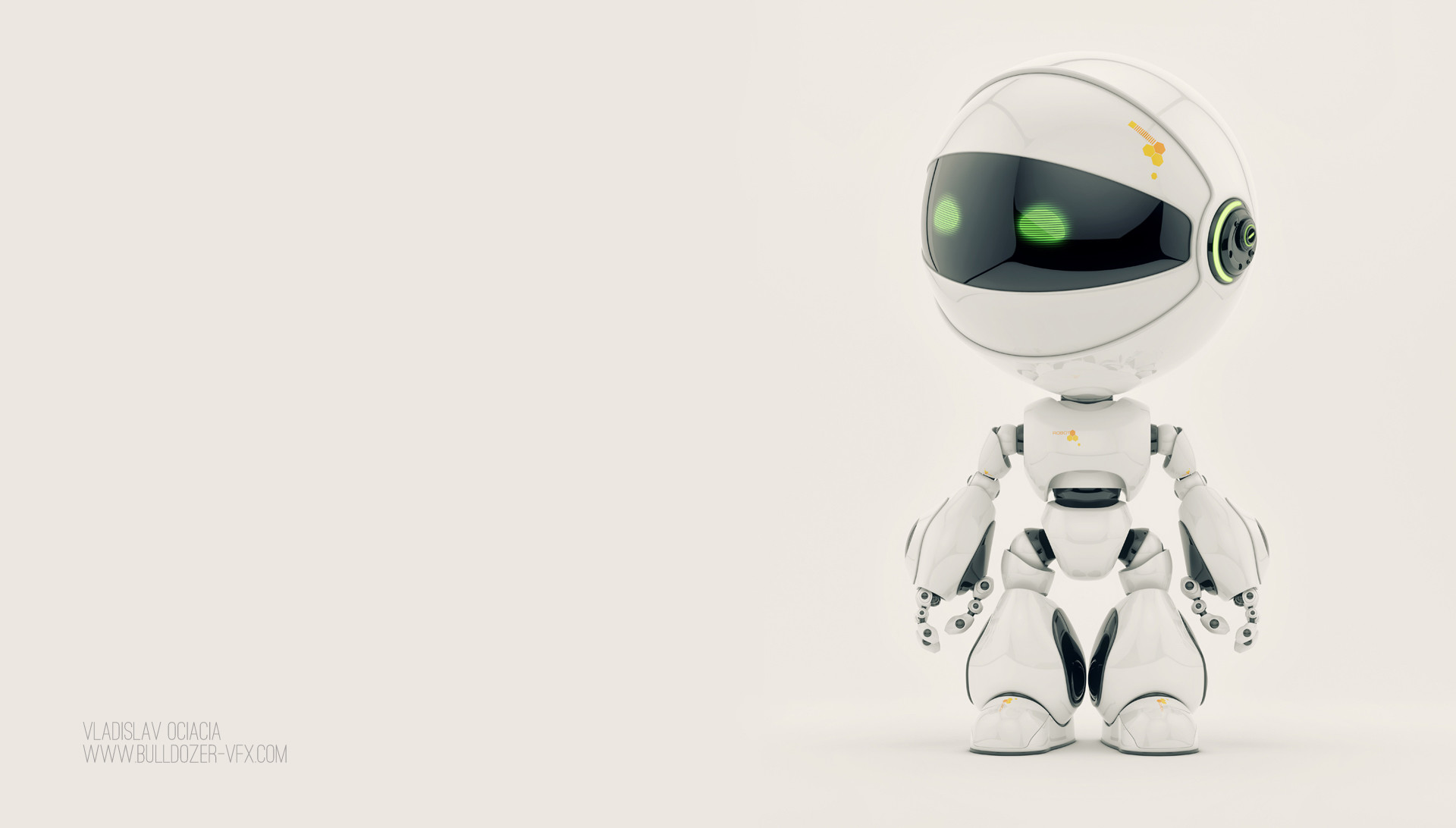 Cute Robot Wallpaper 71 Images