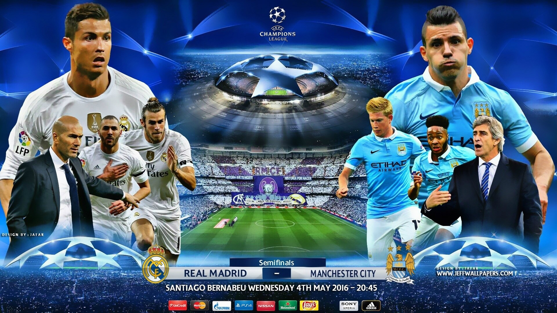 Barcelona Vs Man City Logo: Uefa Champions League Wallpaper HD (72+ Images