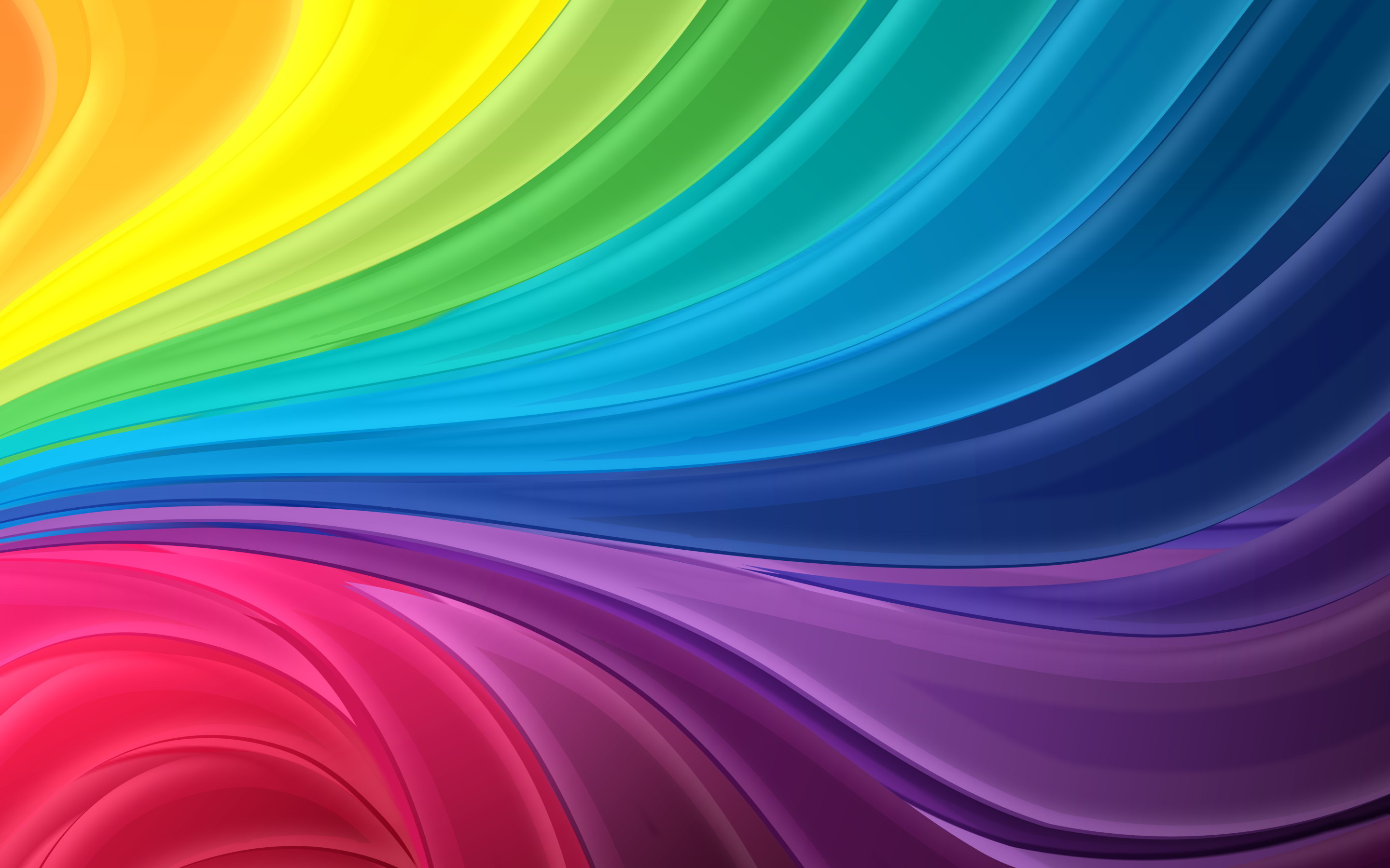 2880x1800 Colors Of The Rainbow Names Wallpaper