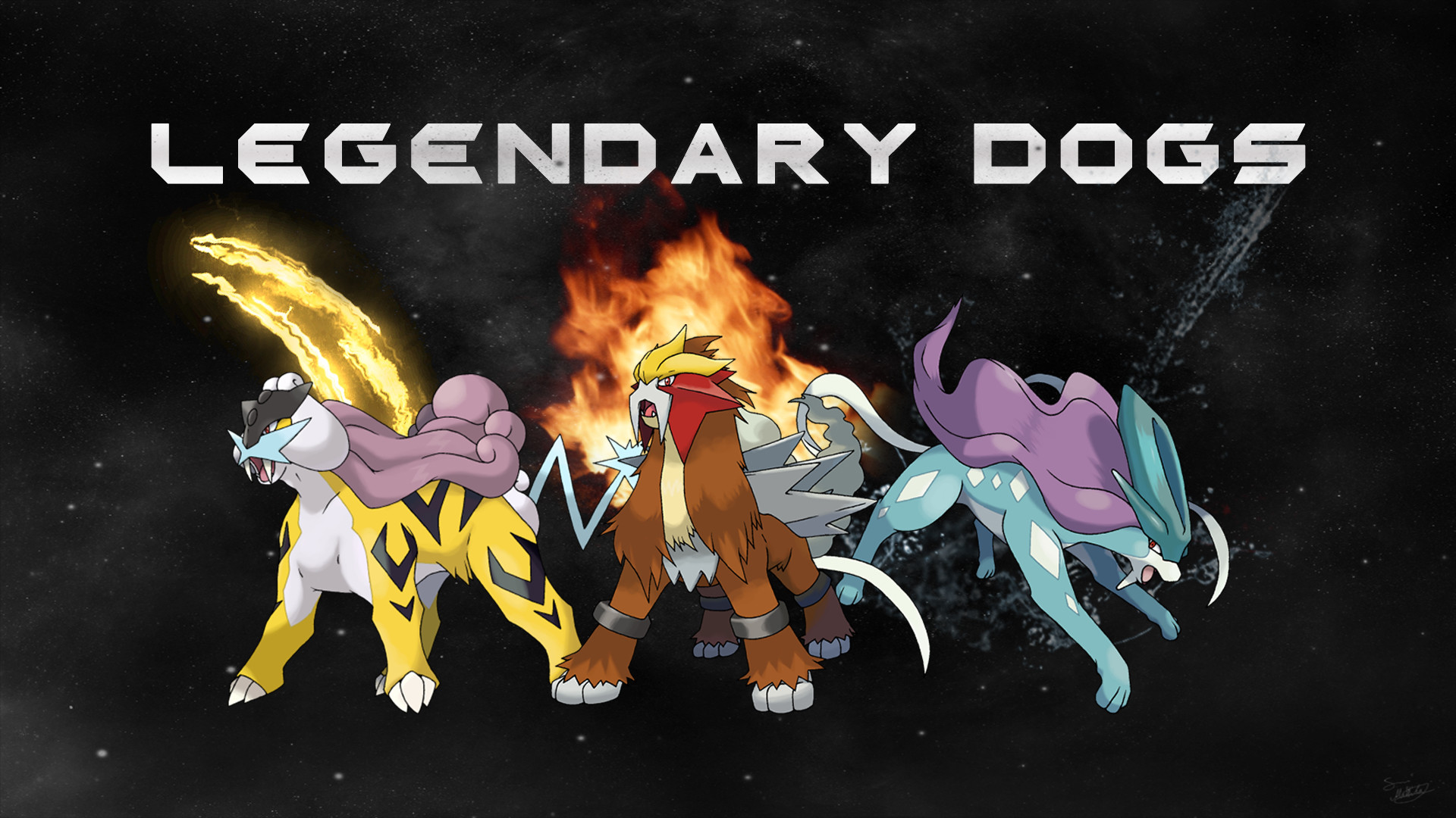 1920x1080 Legendary Dogs Wallpaper by MediaCriggz on DeviantArt
