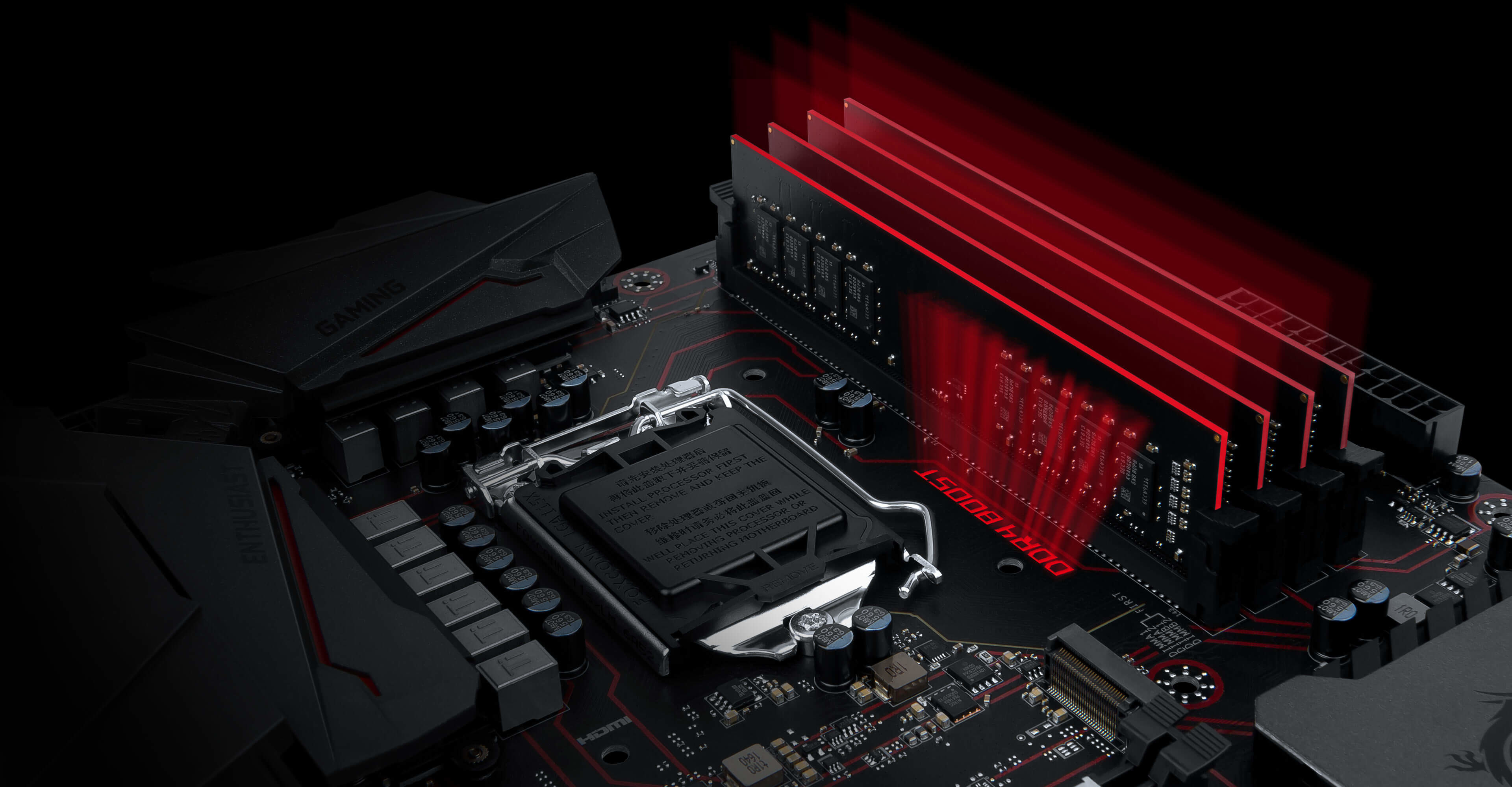 3840x2000 MSI motherboards are crammed with features to fuel your gaming rig's memory  with more speed, higher overclockability and increased stability.