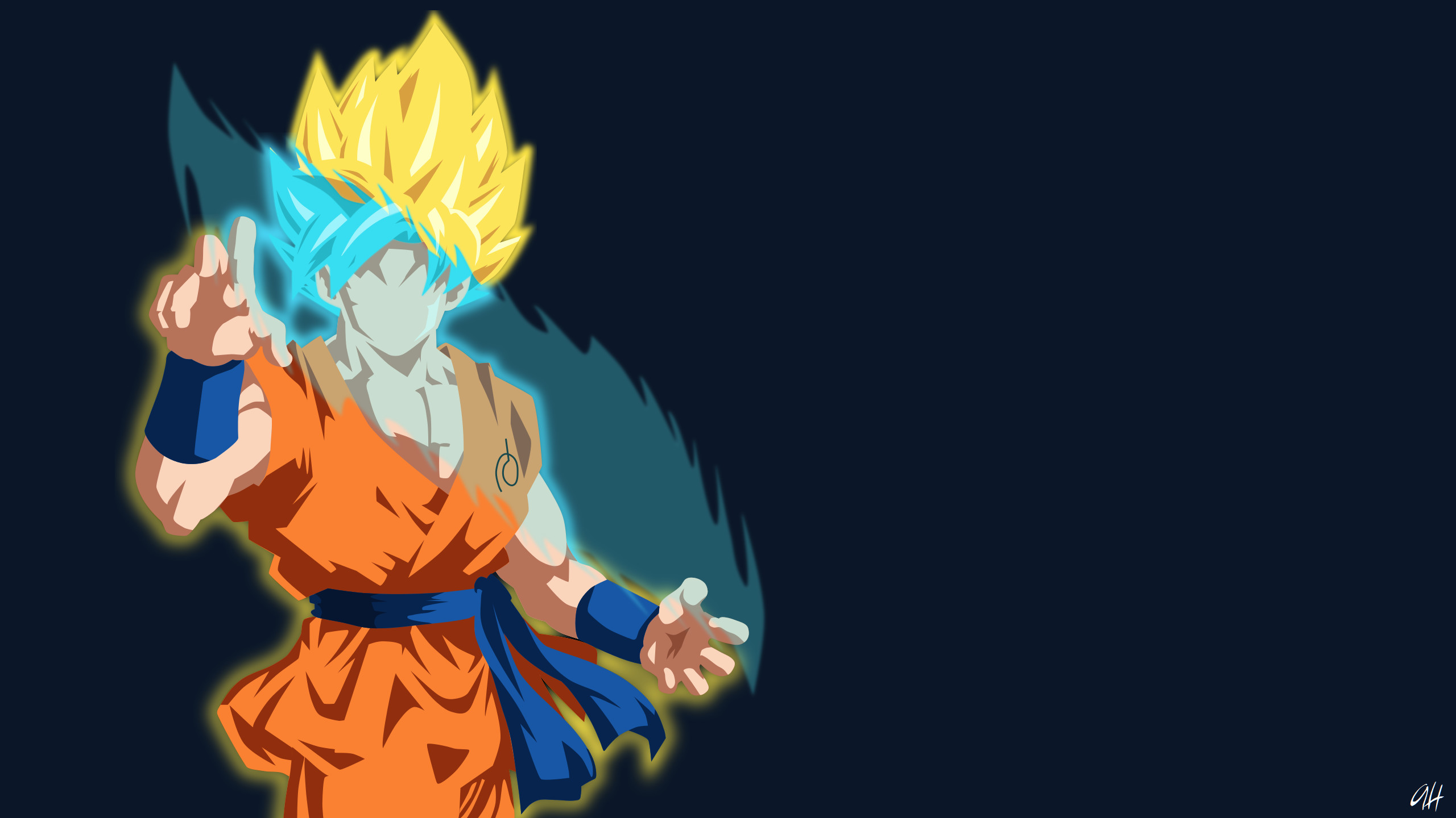 2560x1600 Dragon Ball Super Wallpaper Fusion By WindyEchoes