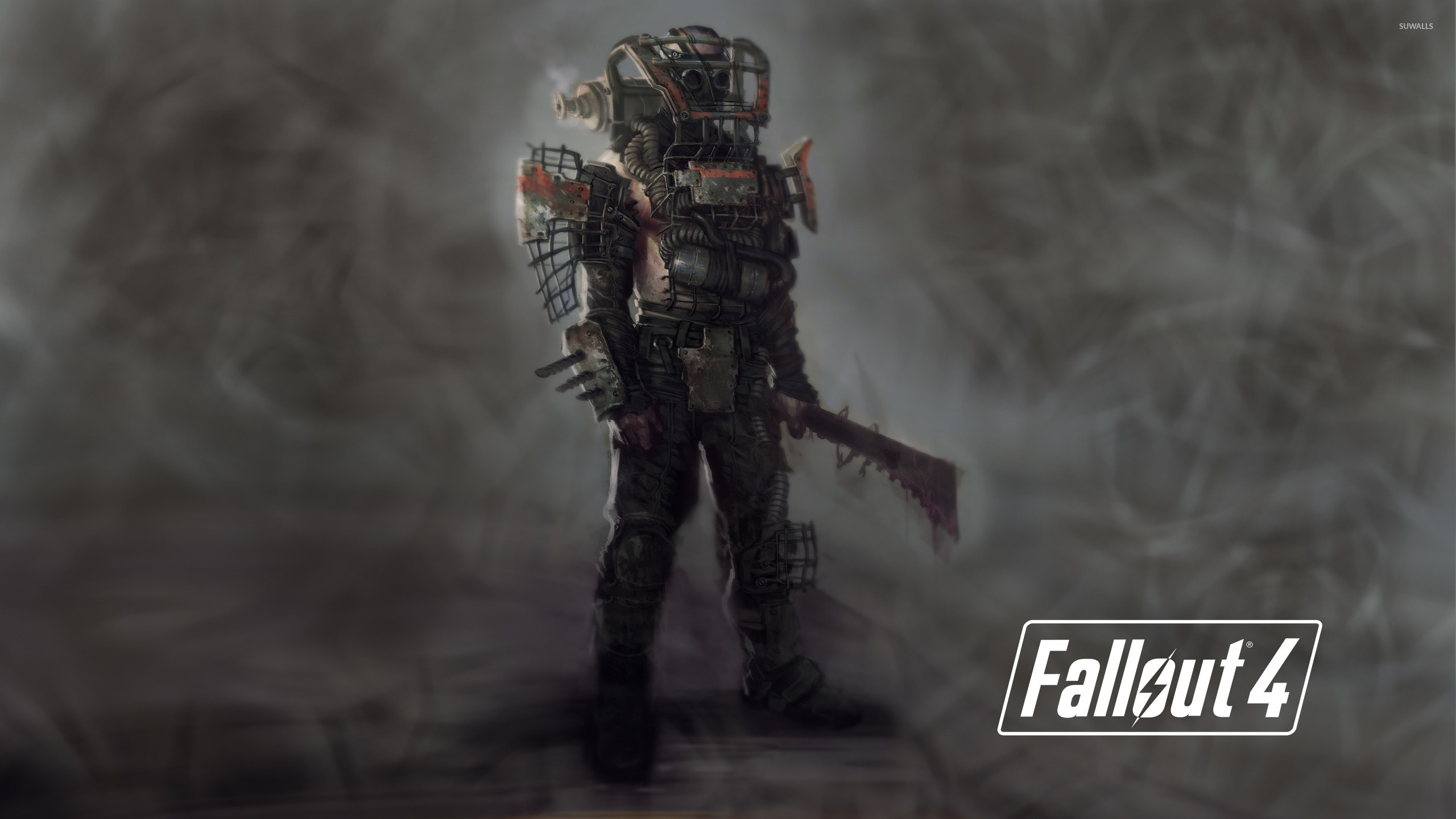 2560x1440 Raider in Fallout 4 wallpaper - Game wallpapers - #50130