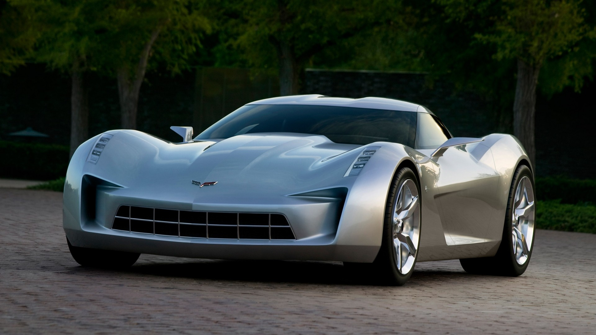1920x1080 chevrolet corvette stingray, sports car wallpapers and backgrounds