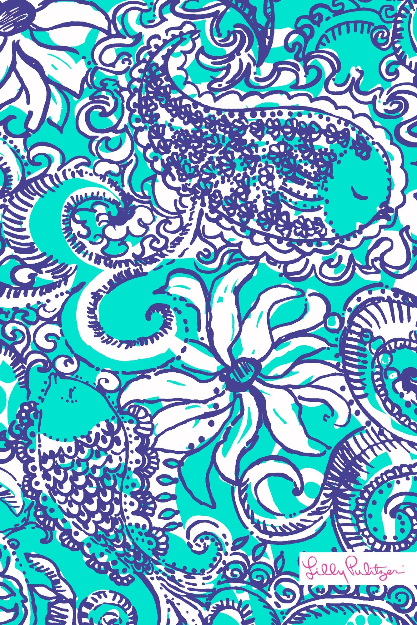 1334x2001 Lilly Pulitzer Montauk iPhone wallpaper
