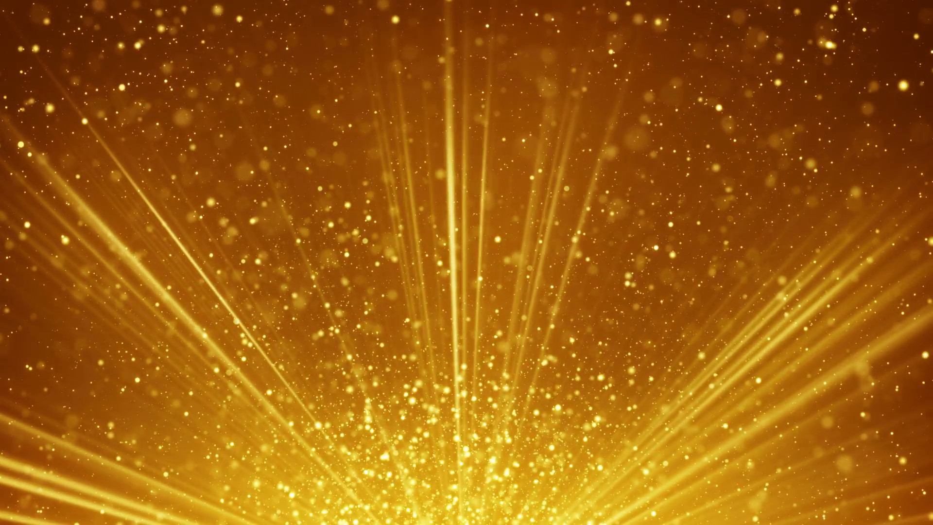 1920x1080 golden light rays and particles loopable background Motion Background -  VideoBlocks