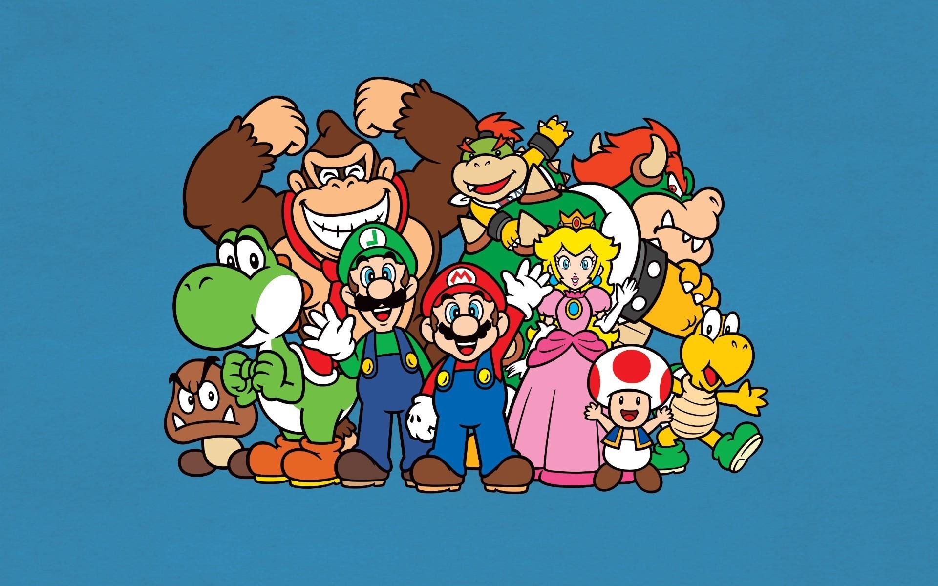 Mario Desktop Backgrounds: Mario And Luigi Backgrounds (54+ Images