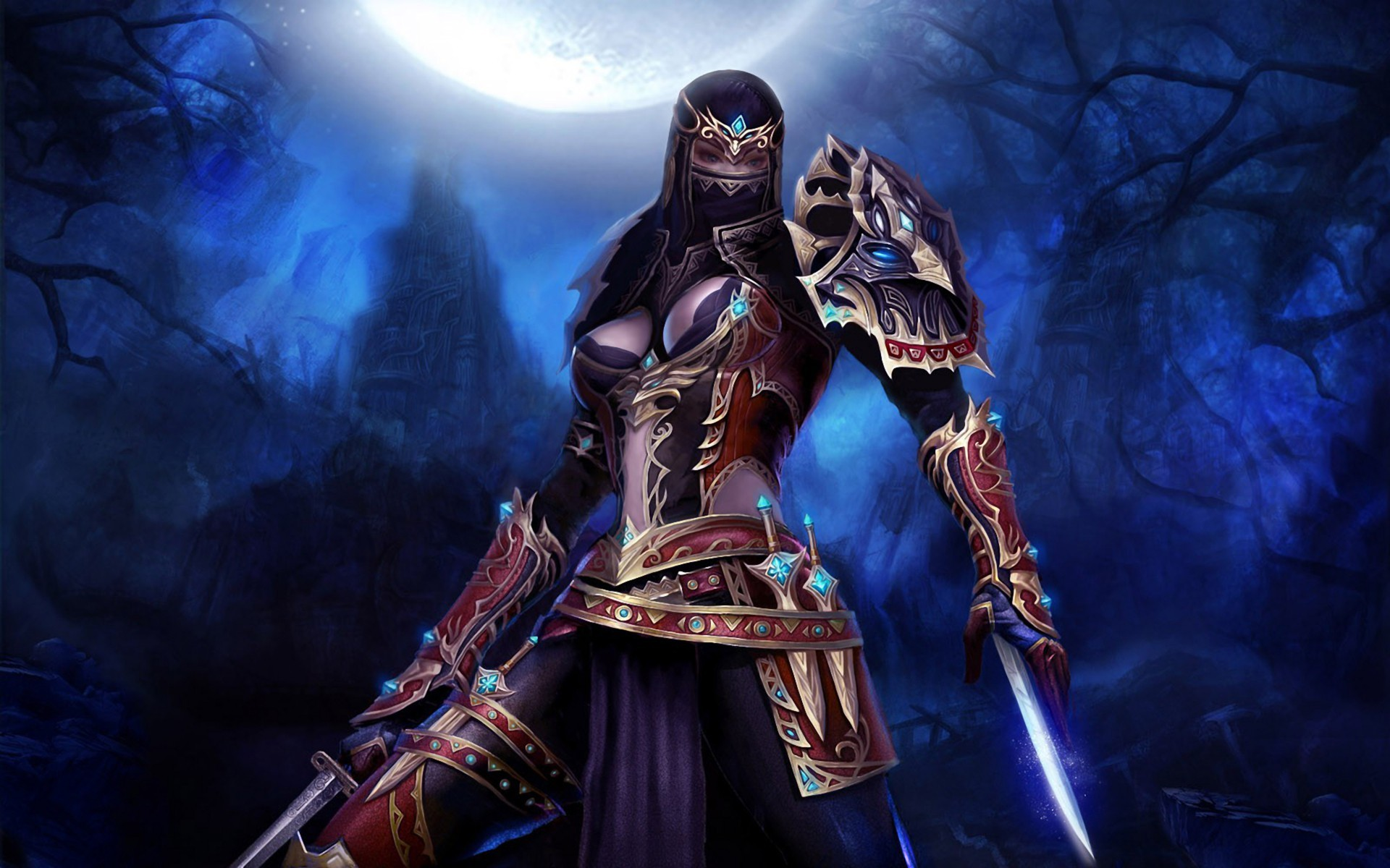 Women Warrior Artwork Sword Rain Cyberpunk Cyberpunk: Rain Ninja Assassin Wallpaper (62+ Images