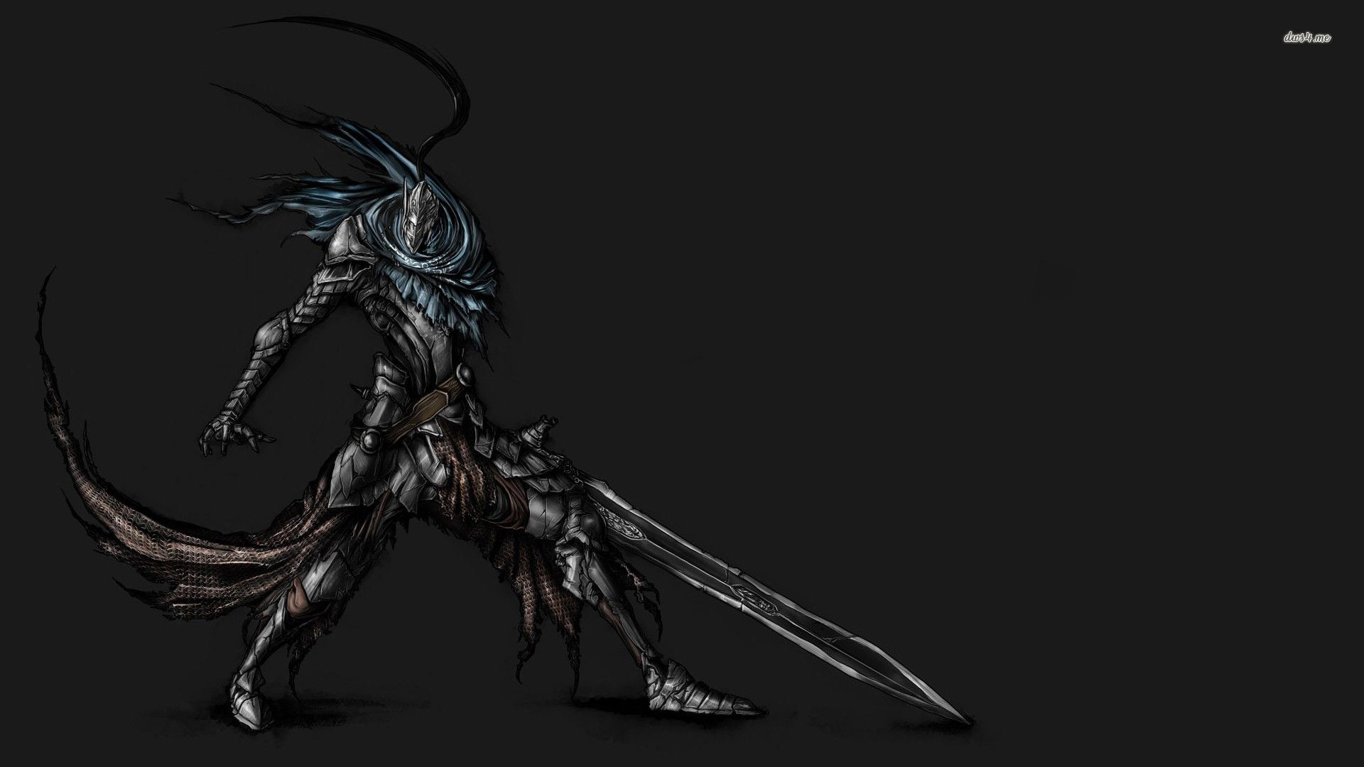 1920x1080 ... Knight Artorias from Dark Souls wallpaper  ...