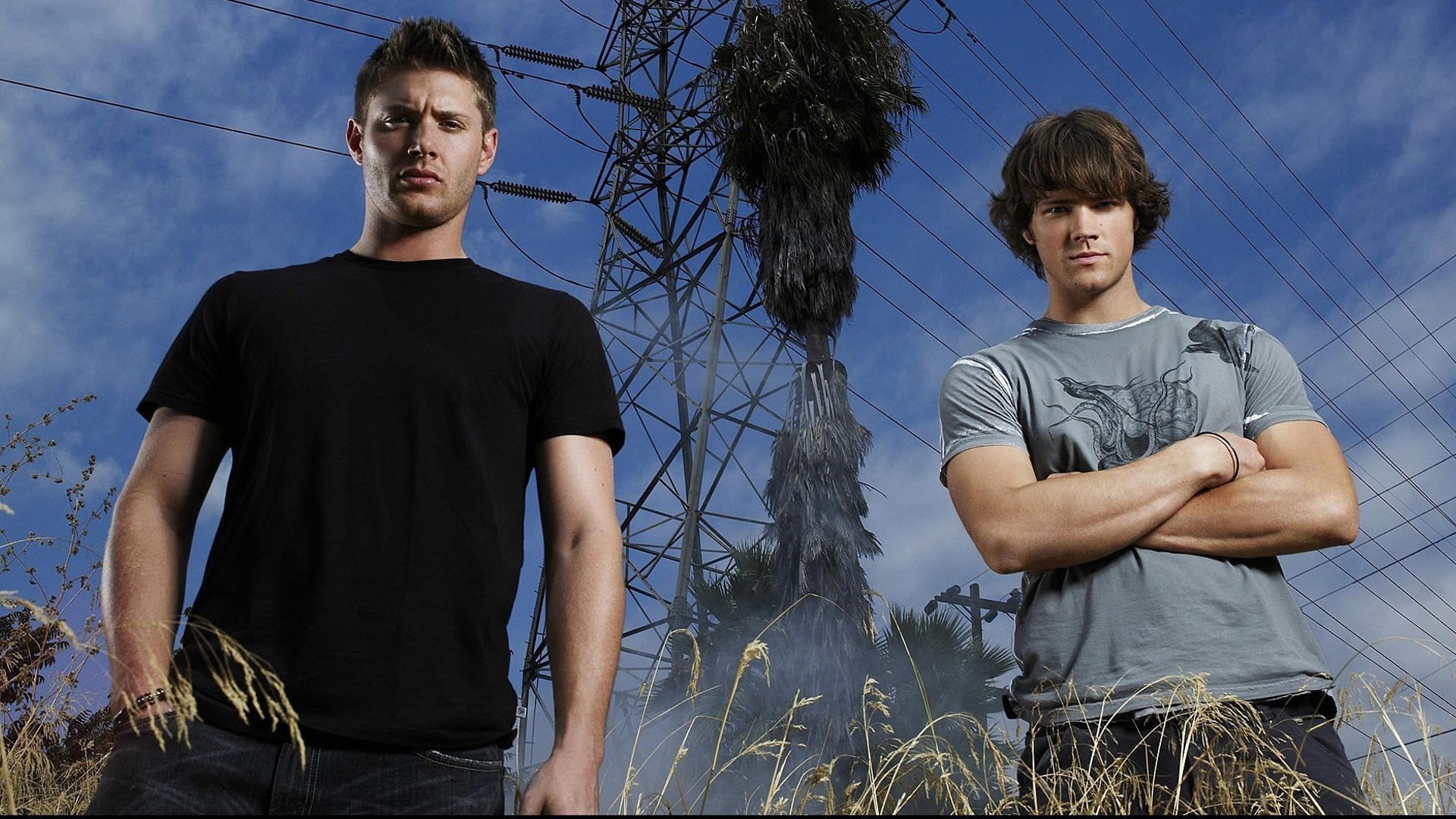 1920x1080 The Winchester Brothers: Supernaturally Sexy Photos of Supernatural's Sam  and Dean