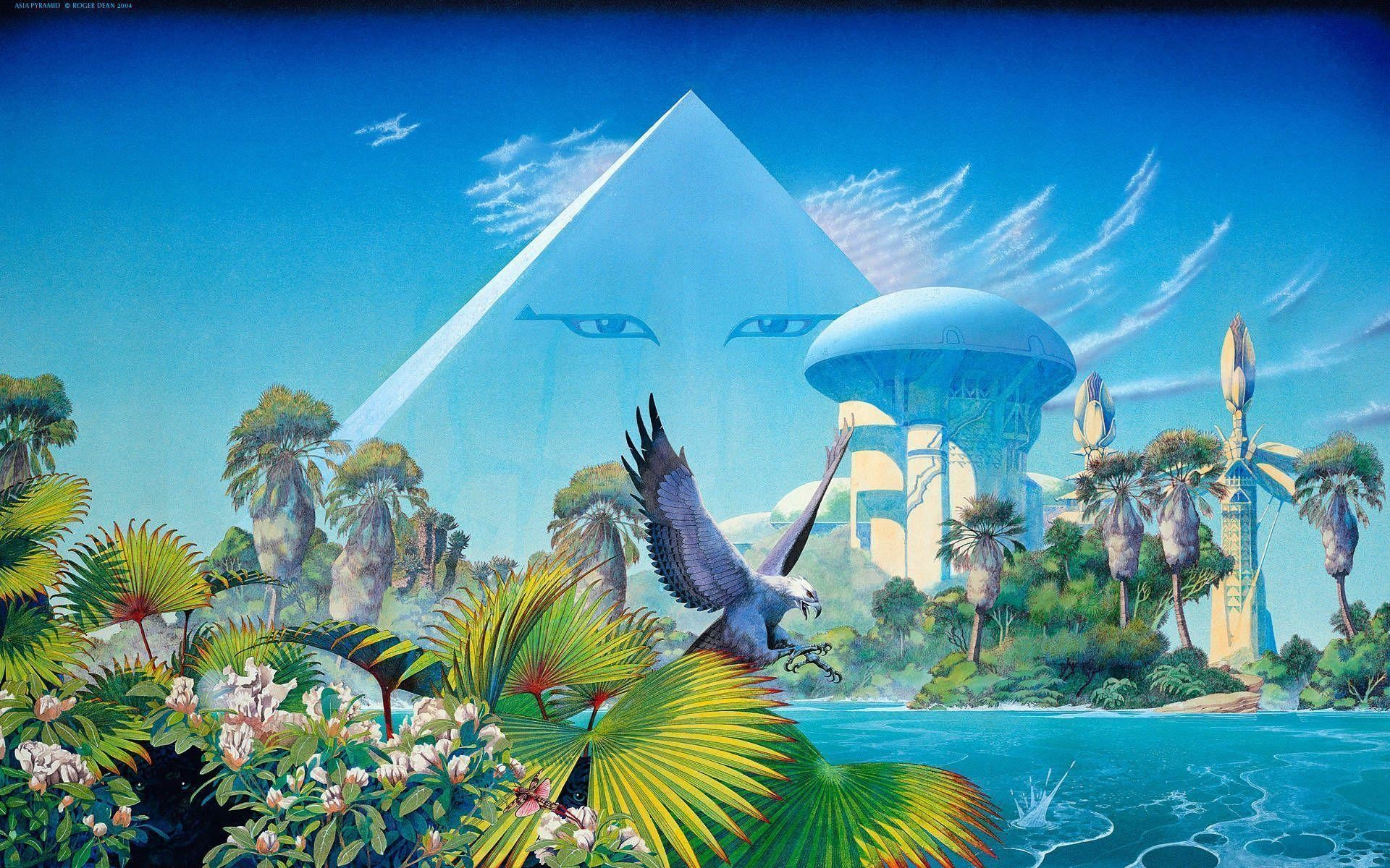 1920x1200 Pix For > Roger Dean Wallpaper